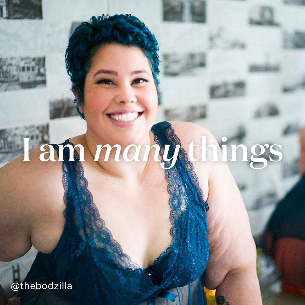 I am many things - April