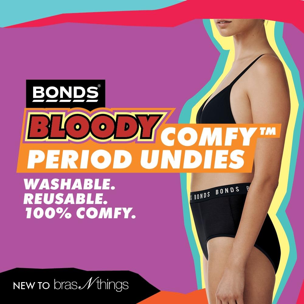 Bonds Bloody Comfy™ Period Undies x Bras N Things