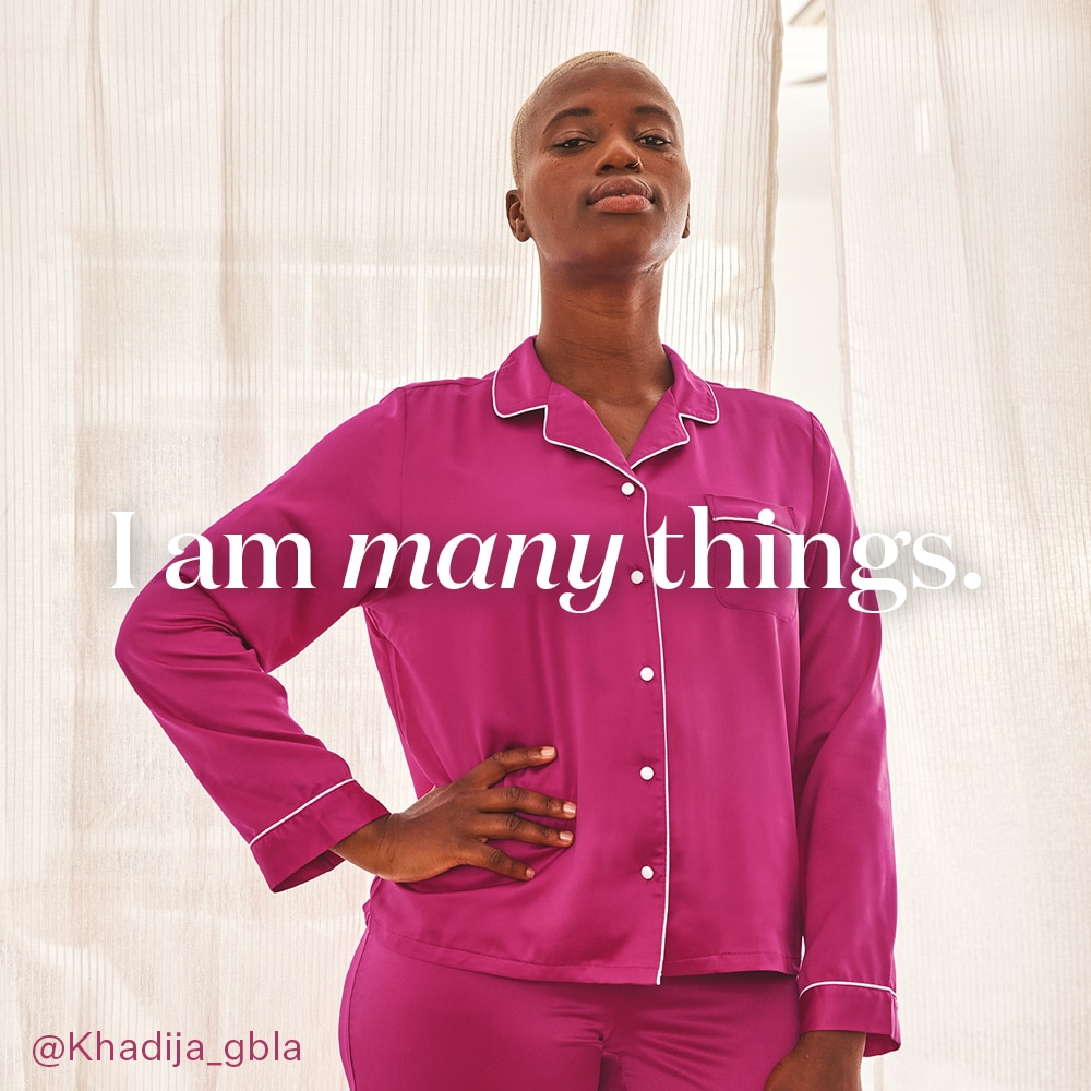 I am many things - Khadija