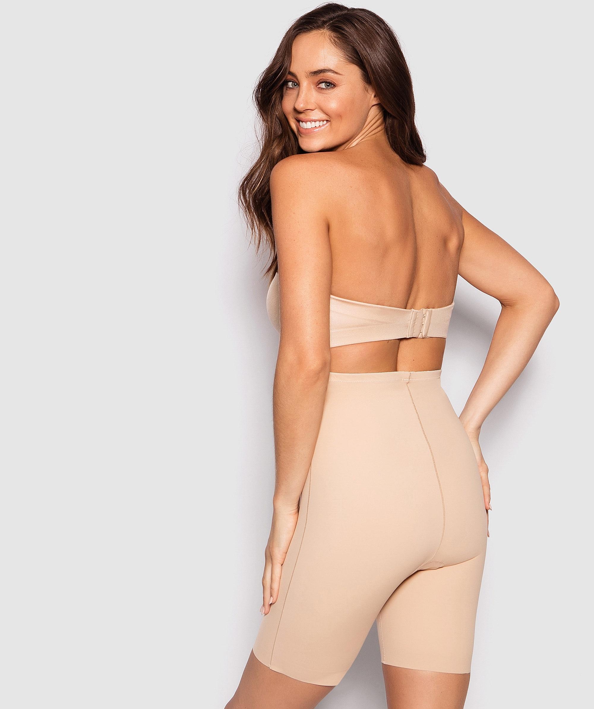 Microfibre Thigh Shaper - Nude