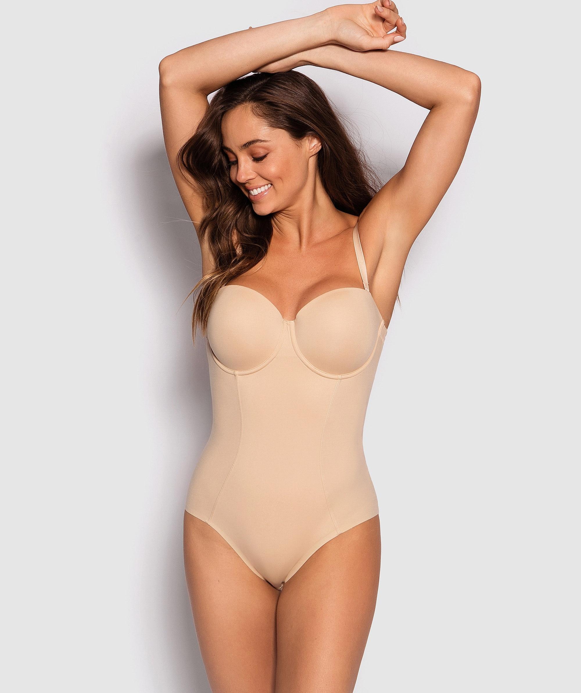 Body Basics Control Bodysuit - Nude