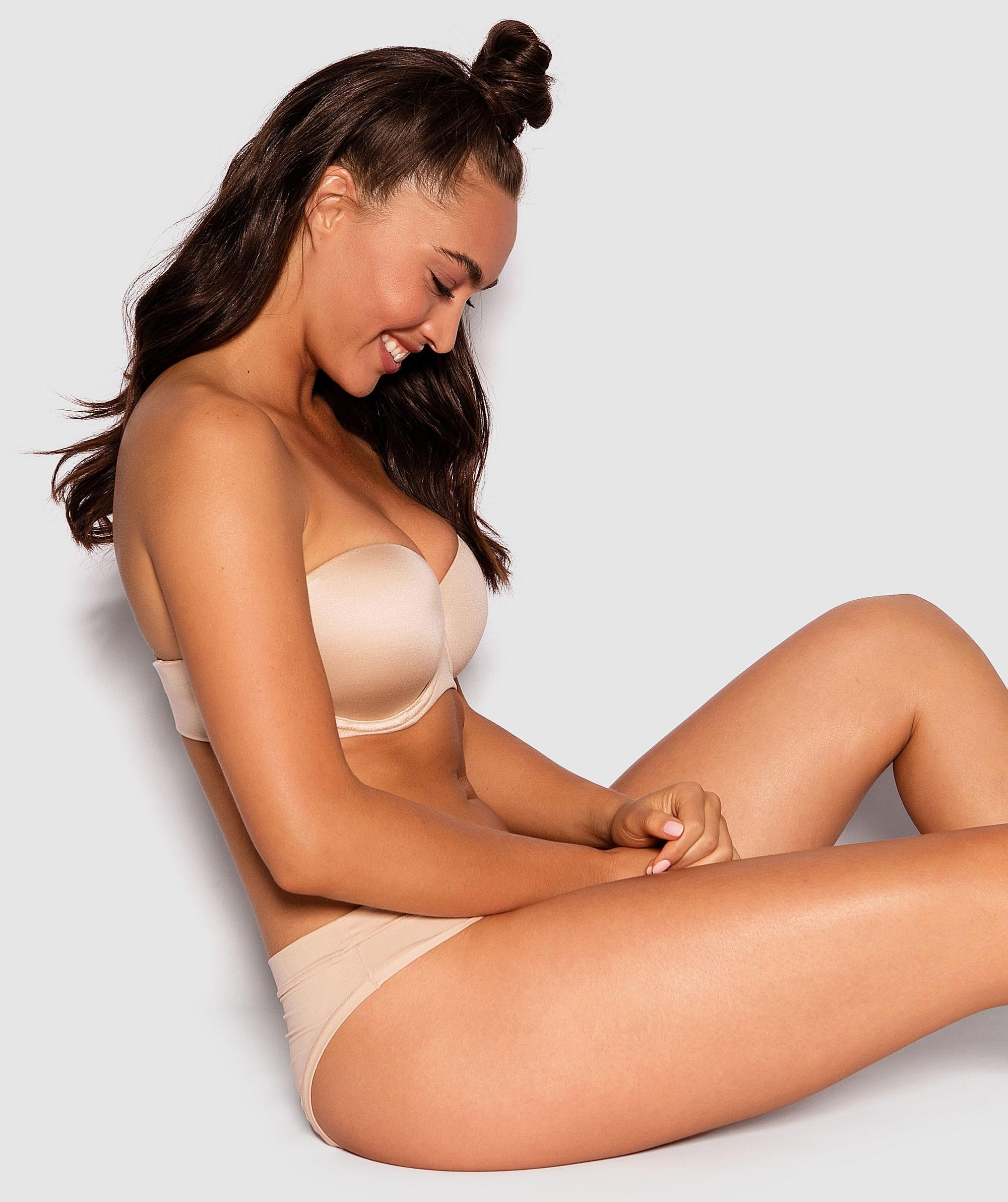 Body Bliss 2nd Gen Full Cup Strapless Bra - Nude