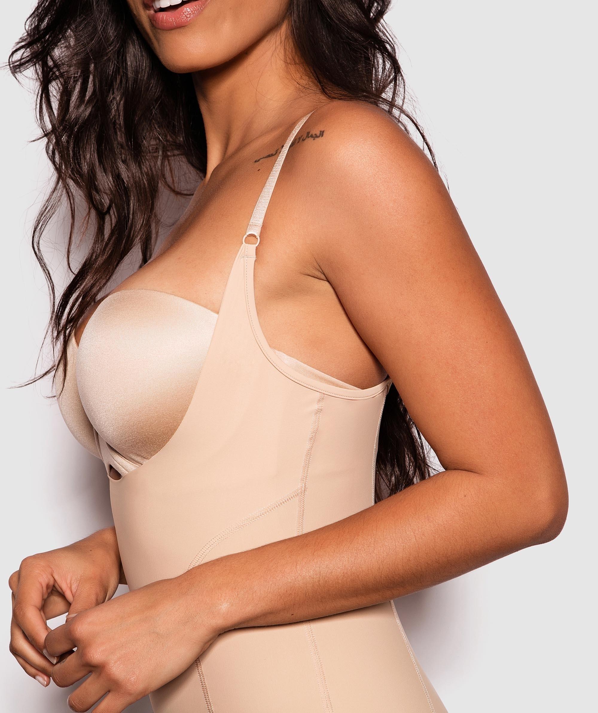 Underbust Shaping Bodysuit - Nude