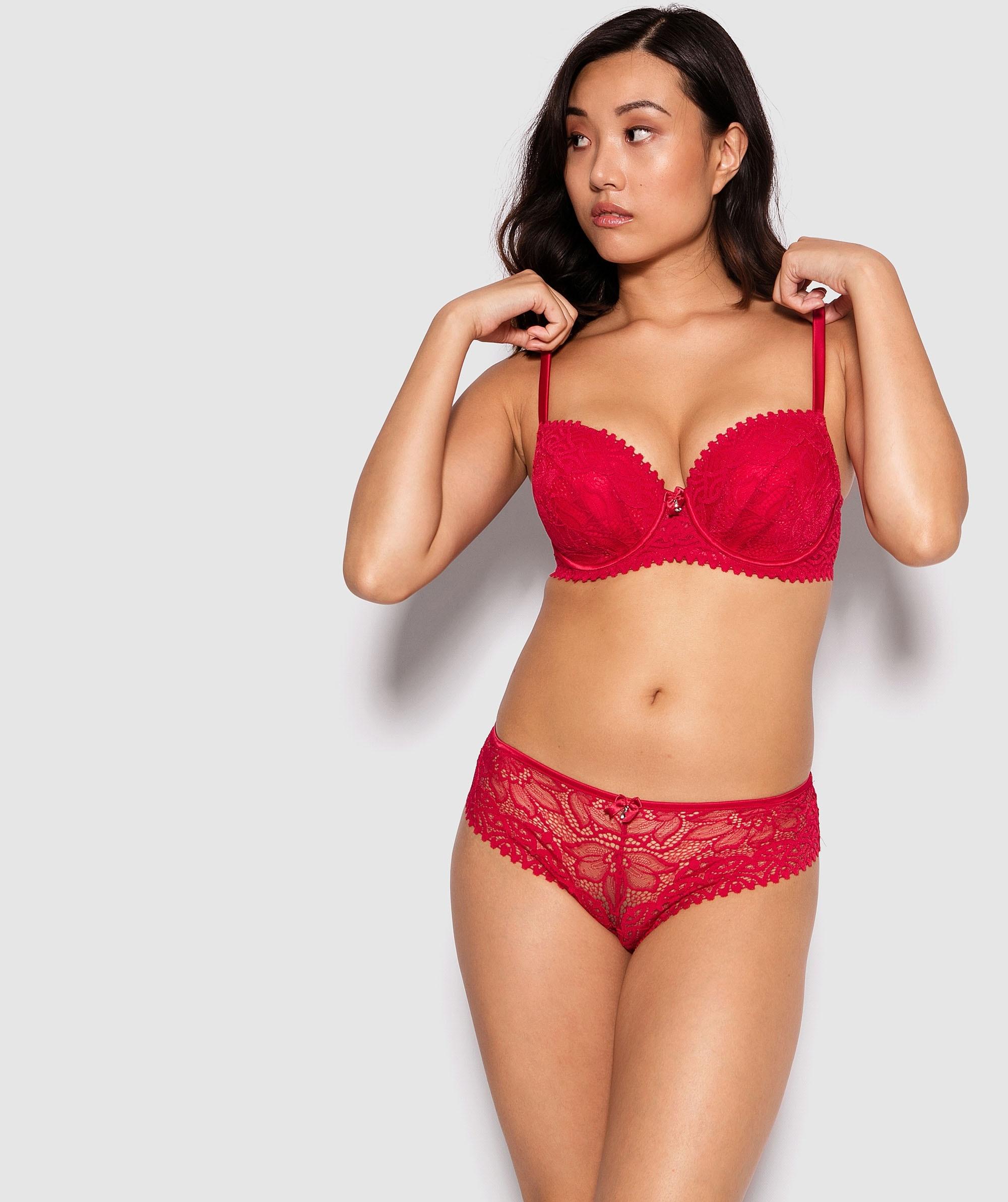 Venice Brazilian Knicker - Red