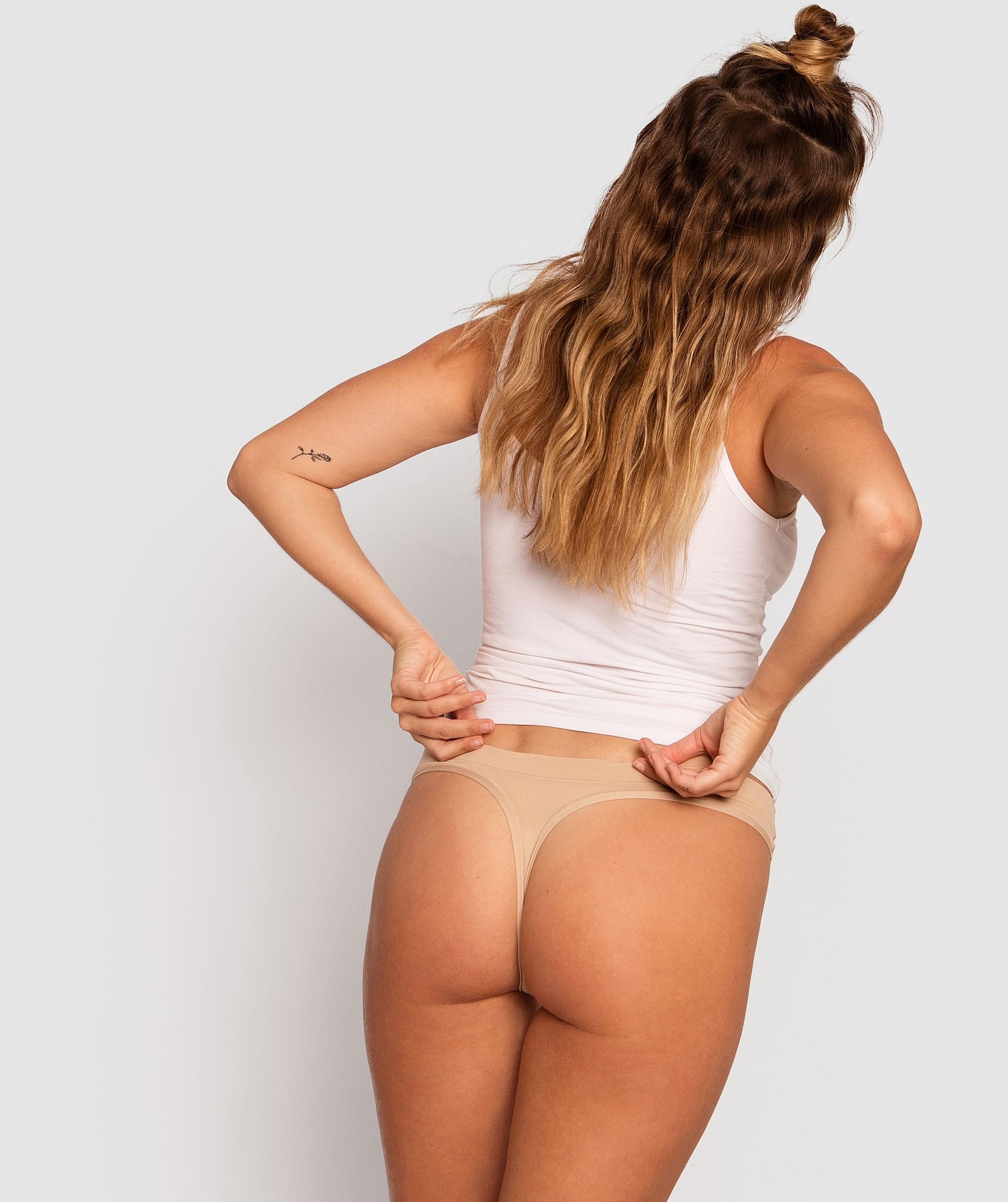 Body Bliss 2nd Gen V-String Knicker - Nude