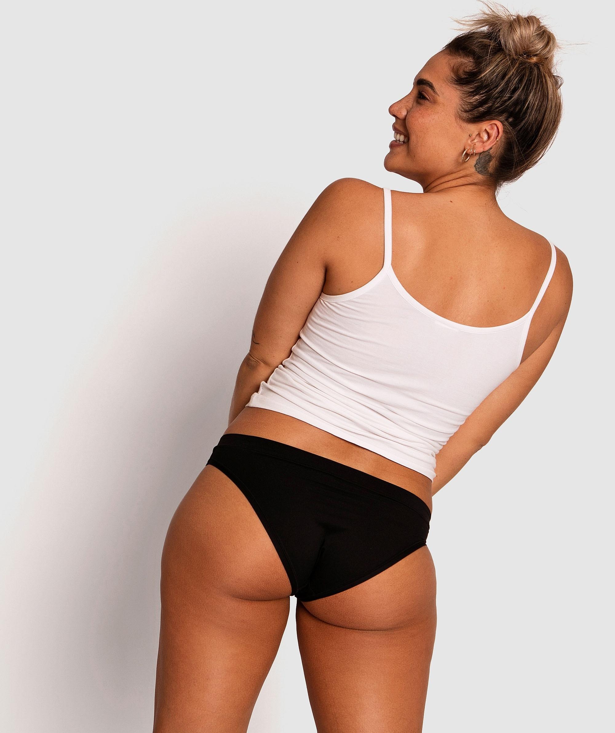 Body Bliss 2nd Gen Bikini Cut Knicker - Black