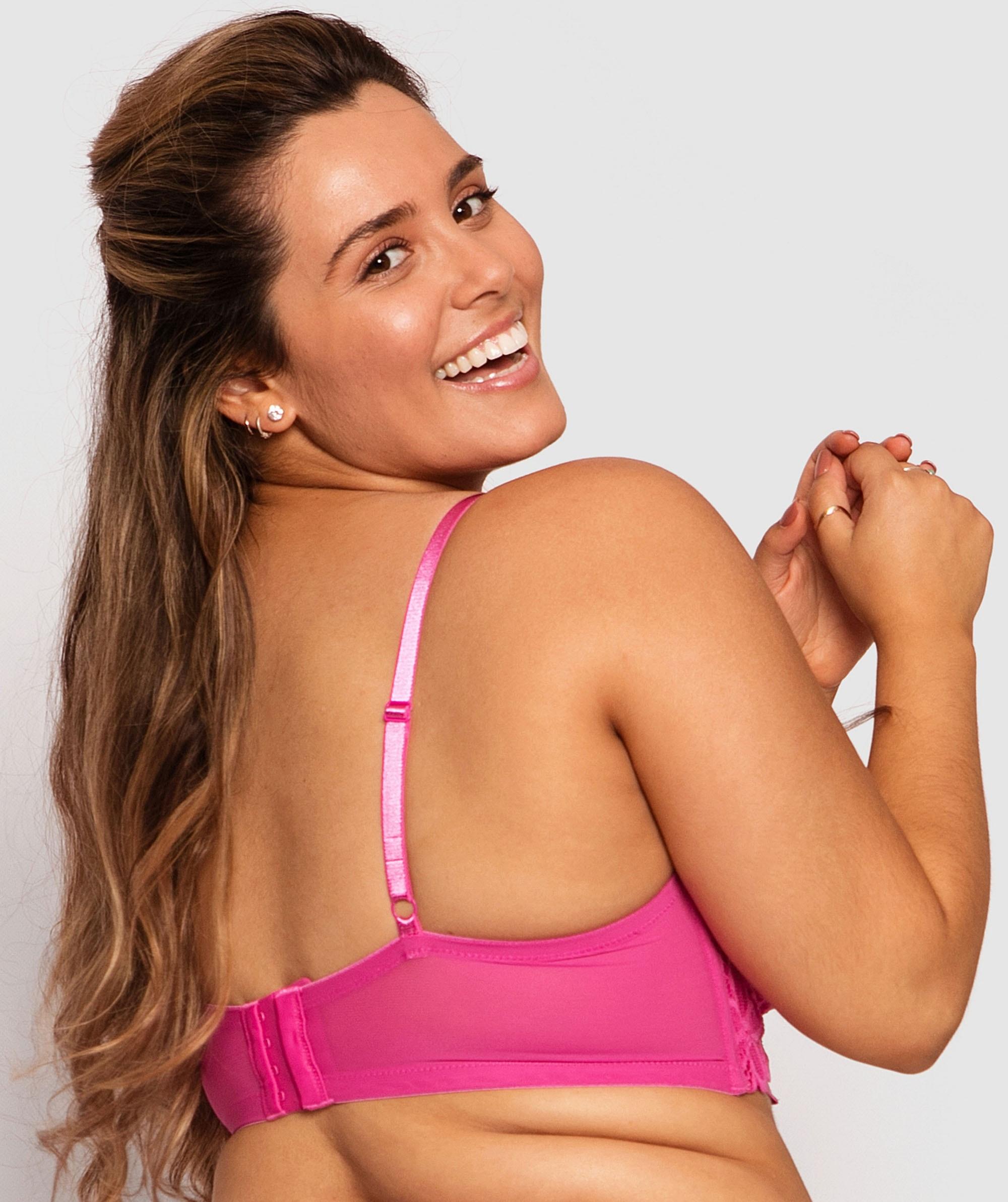 Kira Contour Bra - Pink