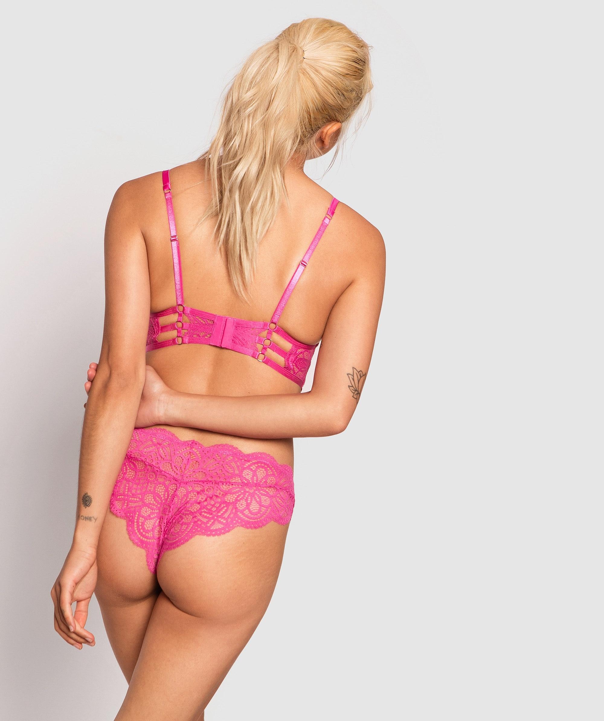 Bluma Brazilian Knicker - Pink