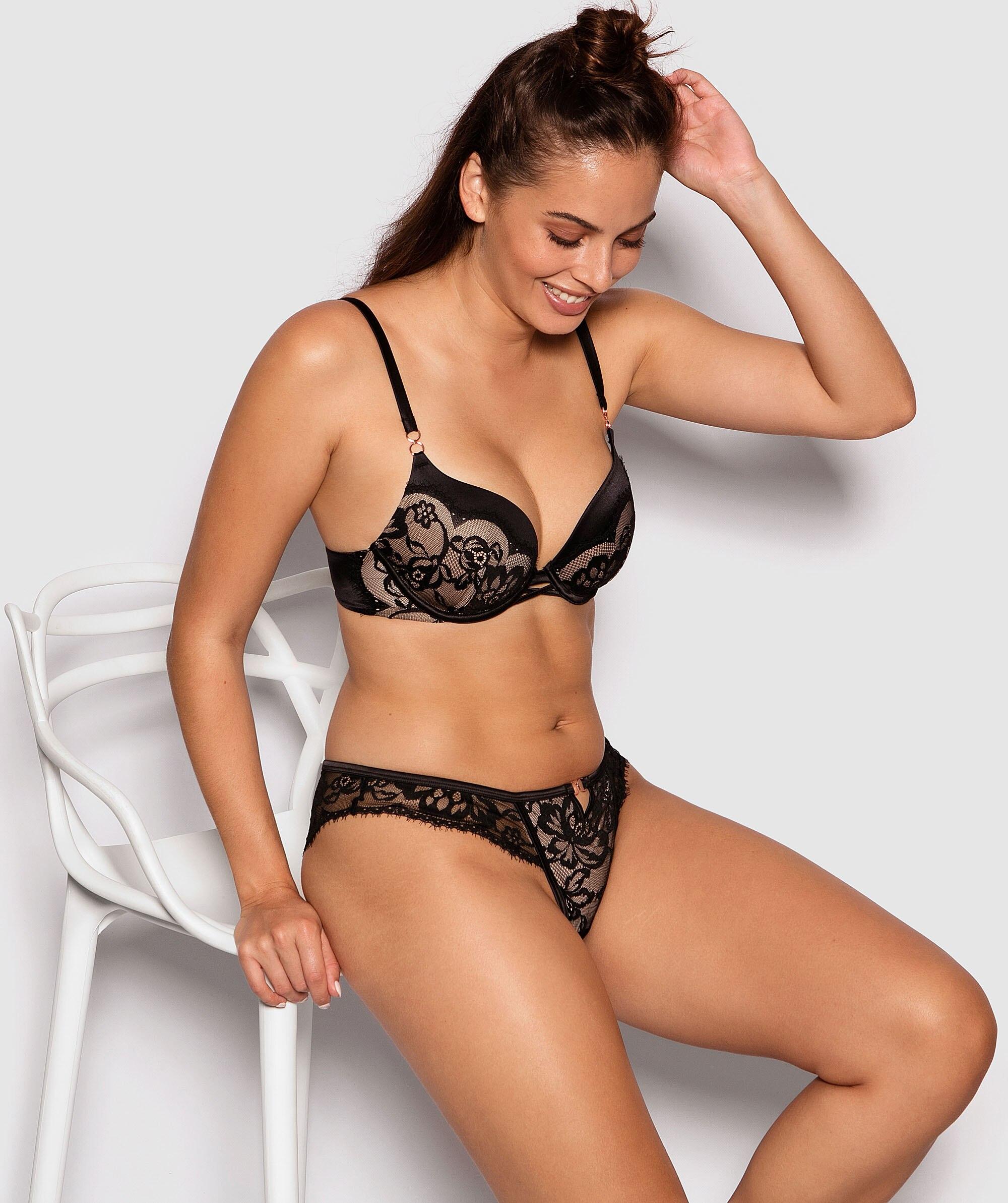 Fashion X Comfort Contour Bra - Black/Nude