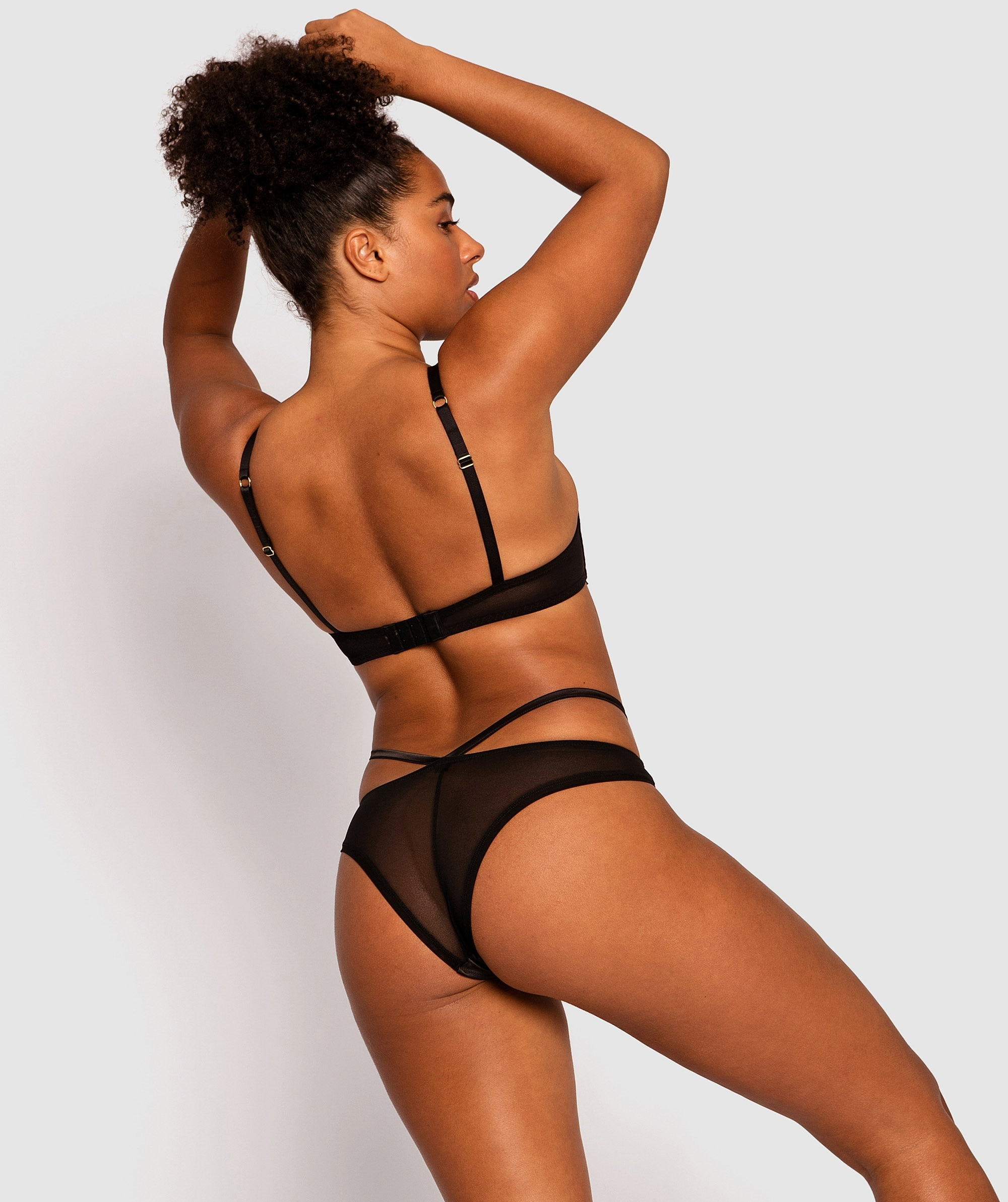 Vamp Anya Brazilian Knicker - Black