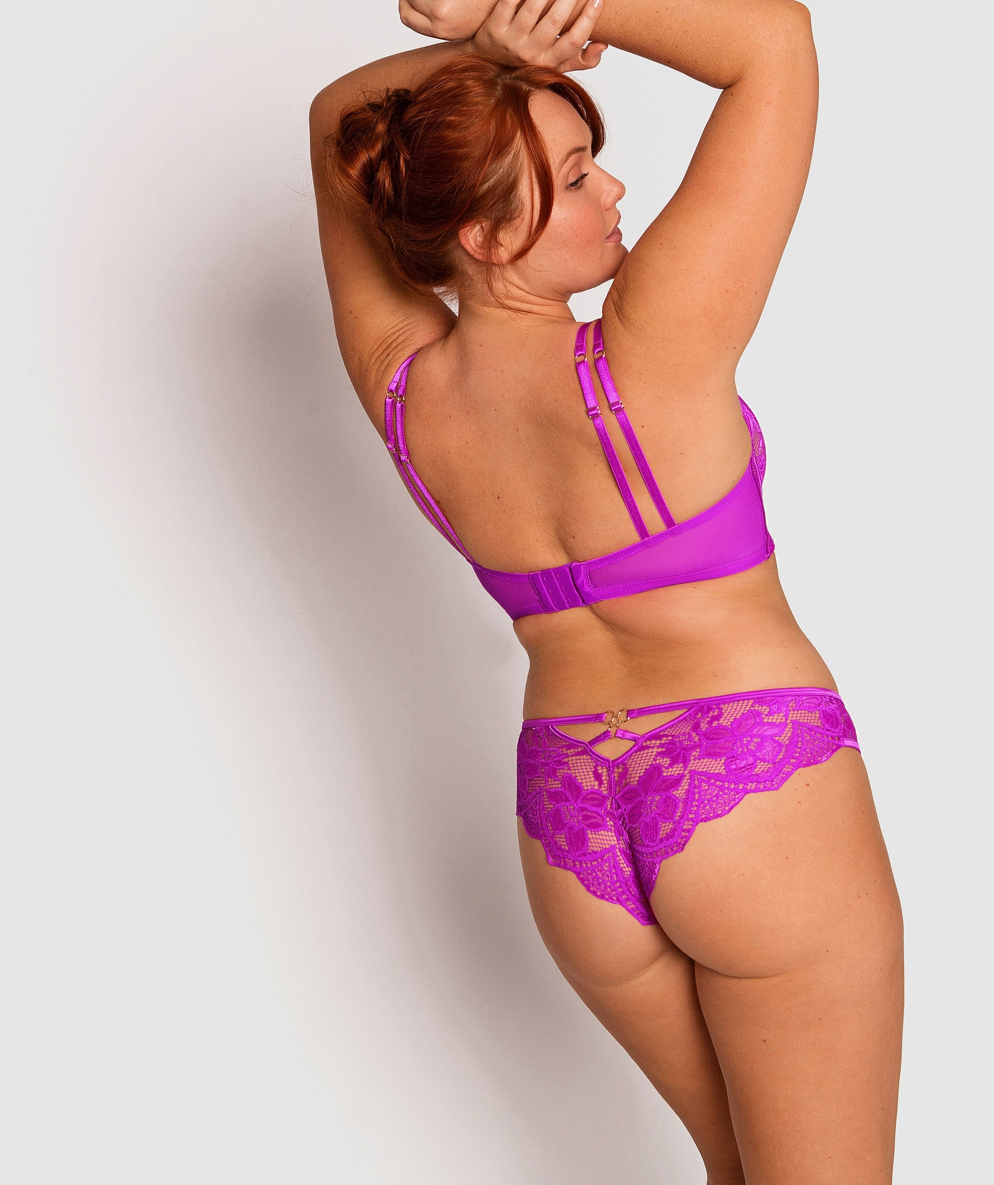 Vamp Sasha Brazilian Knicker - Pink