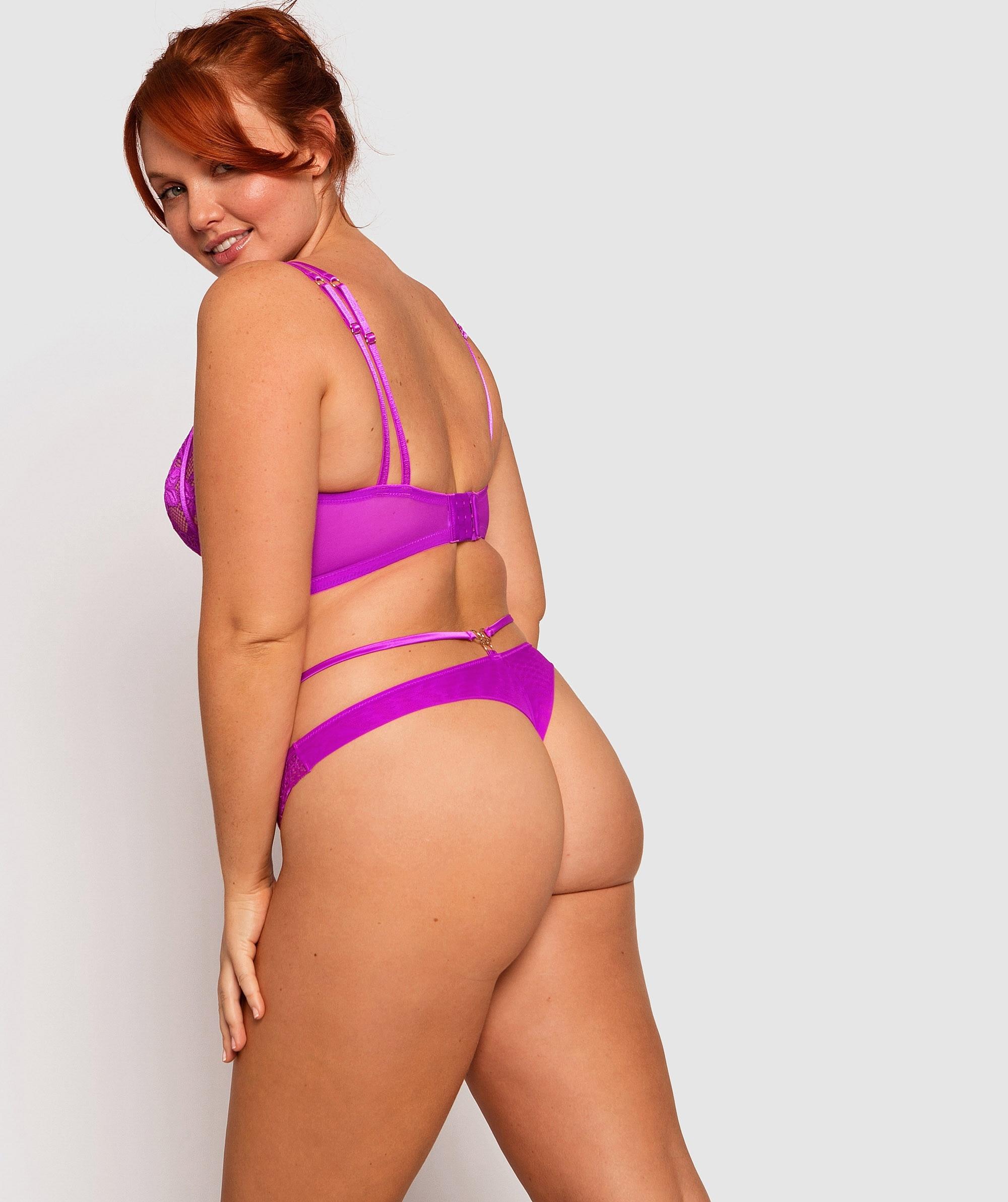 Vamp Sasha V String Knicker - Pink