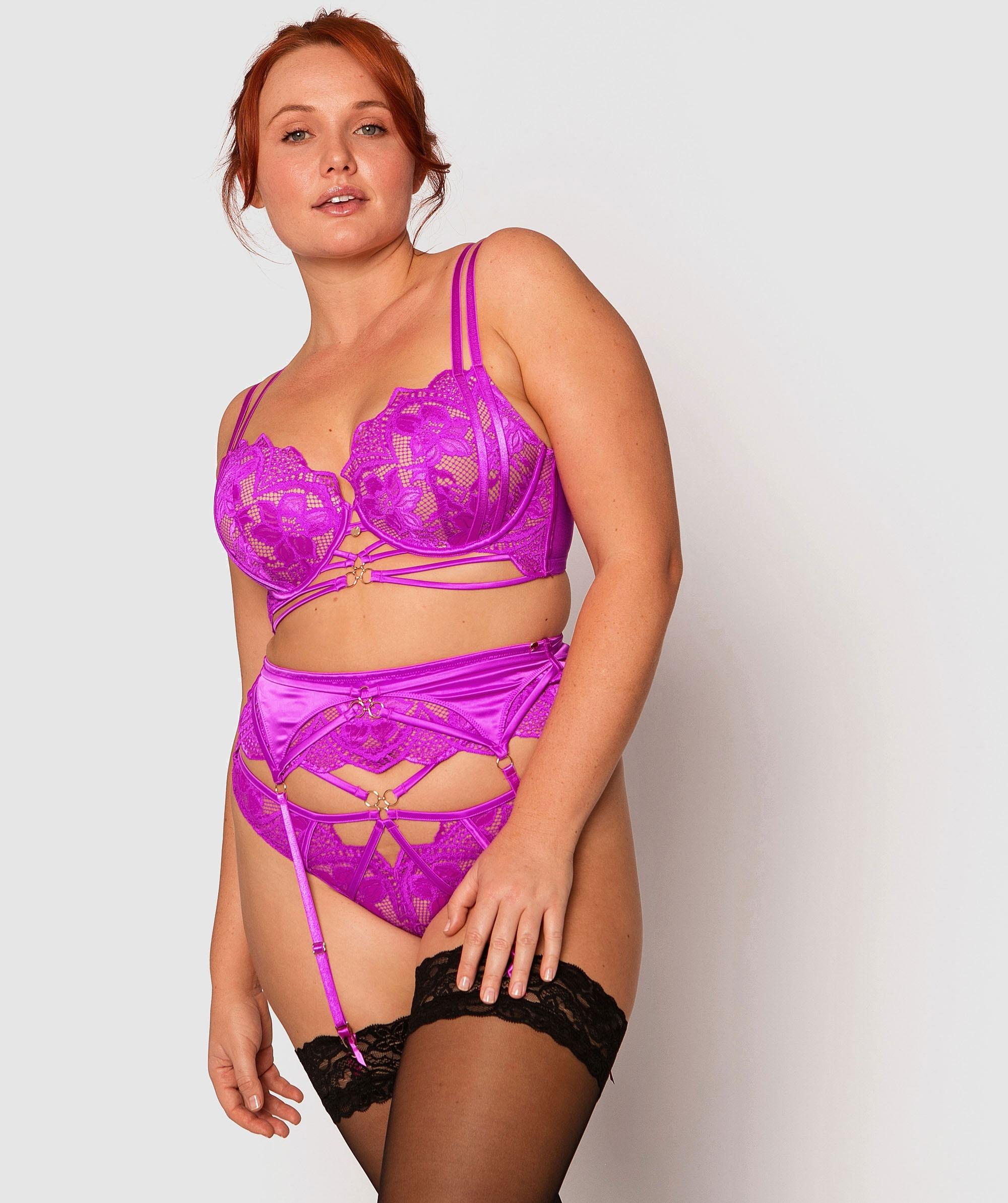 Vamp Sasha Suspender - Pink