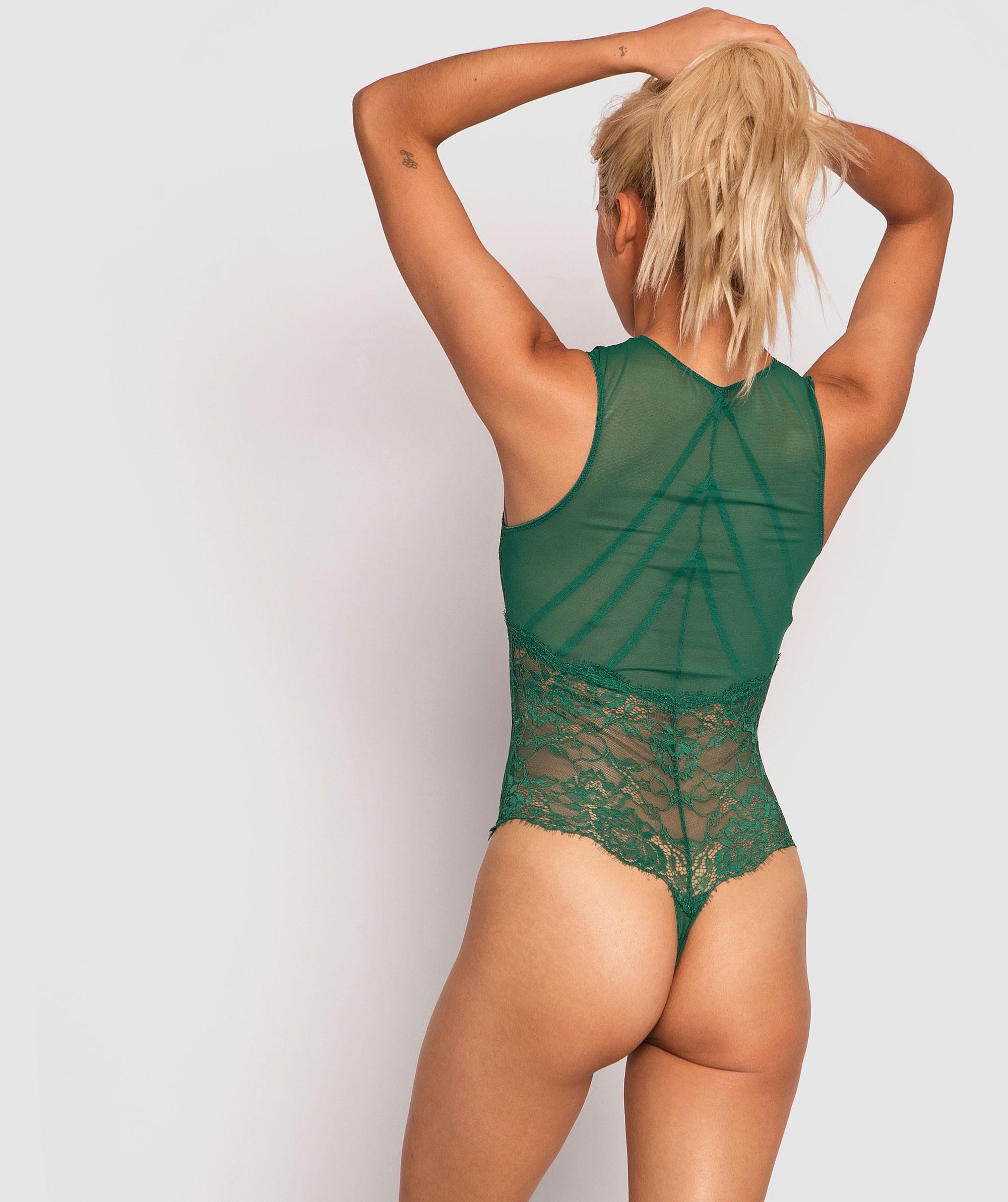 Sion Bodysuit - Dark Green