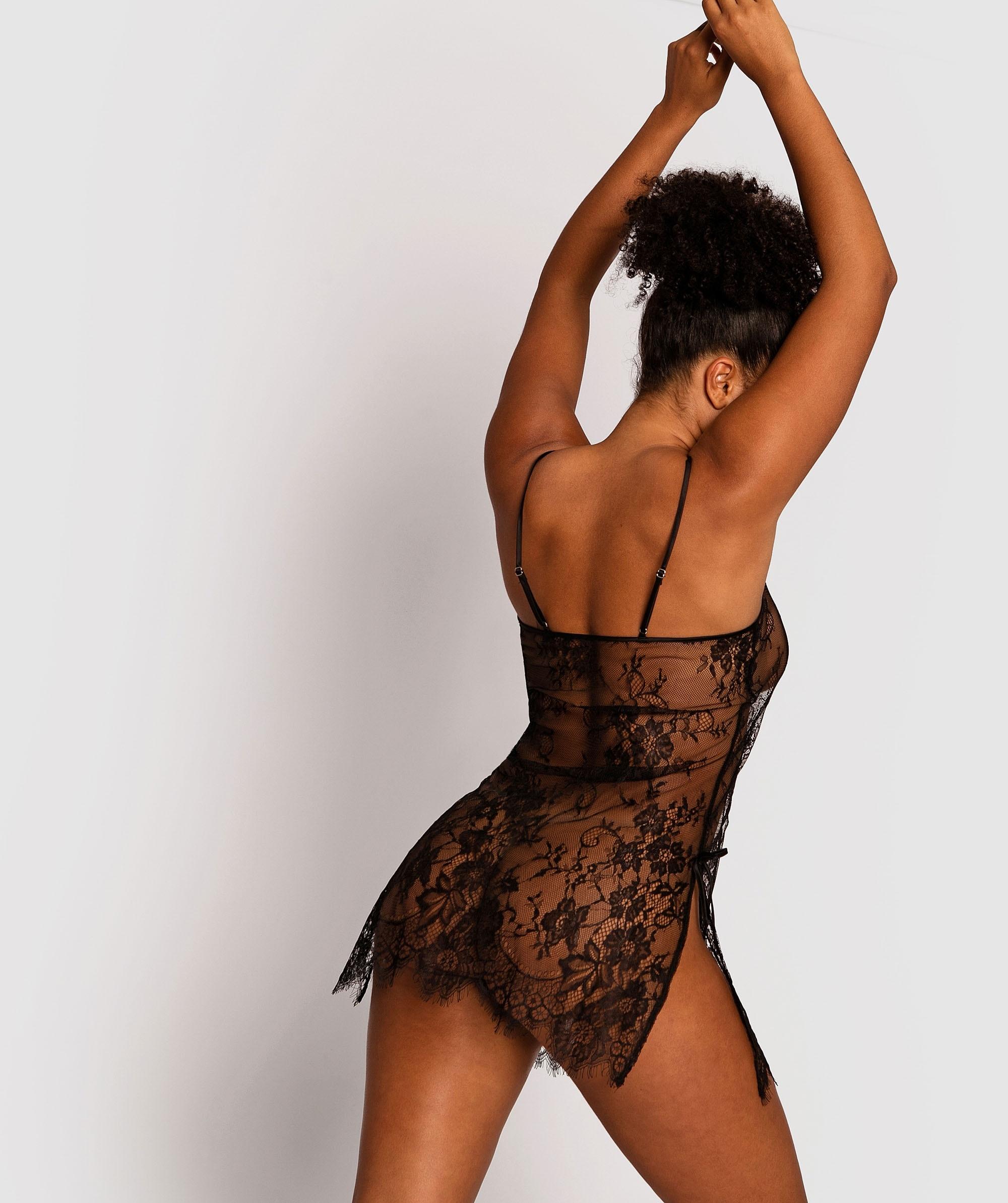 Gabriela Slip - Black