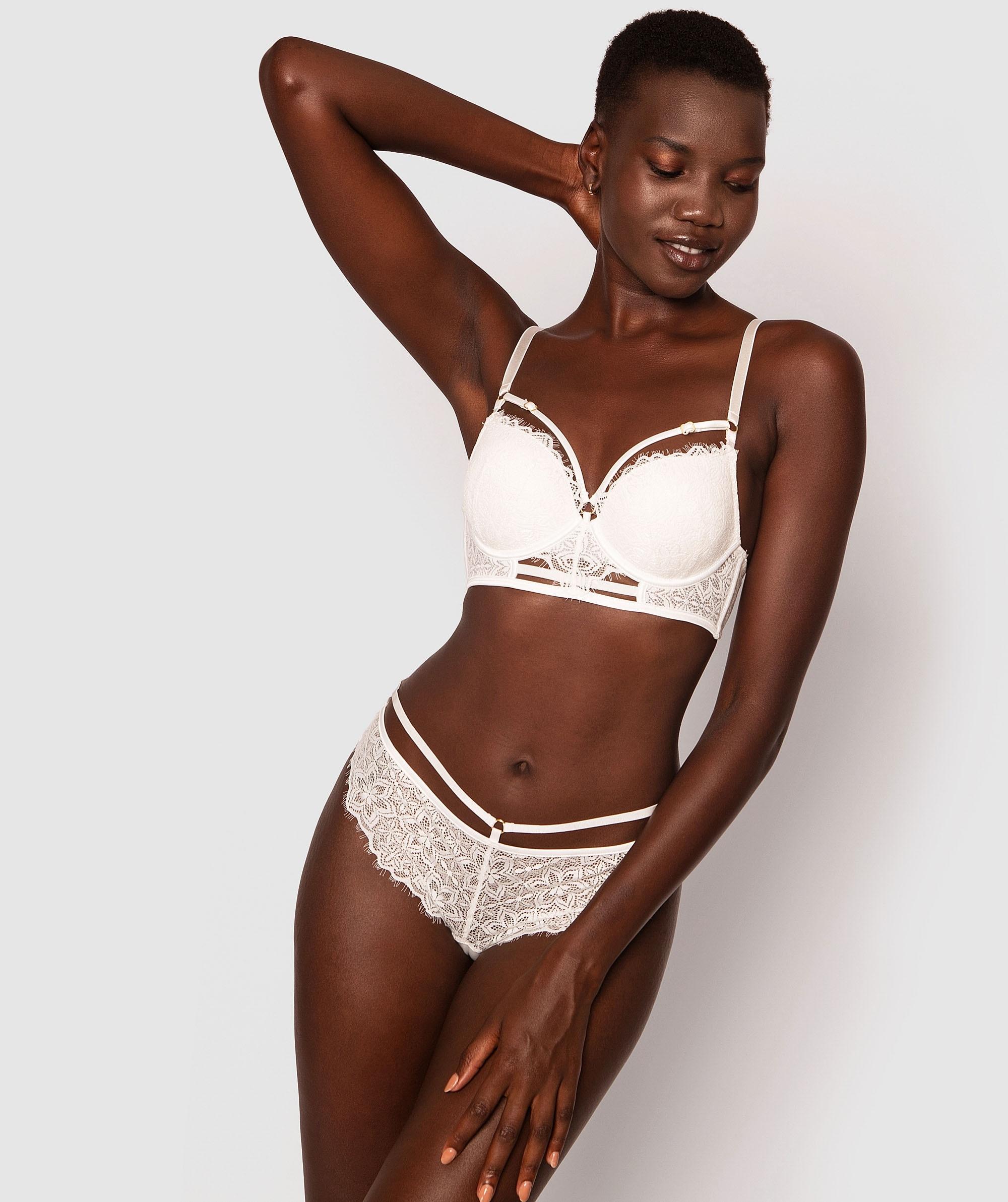 Antonia Plunge Contour Bra - Ivory