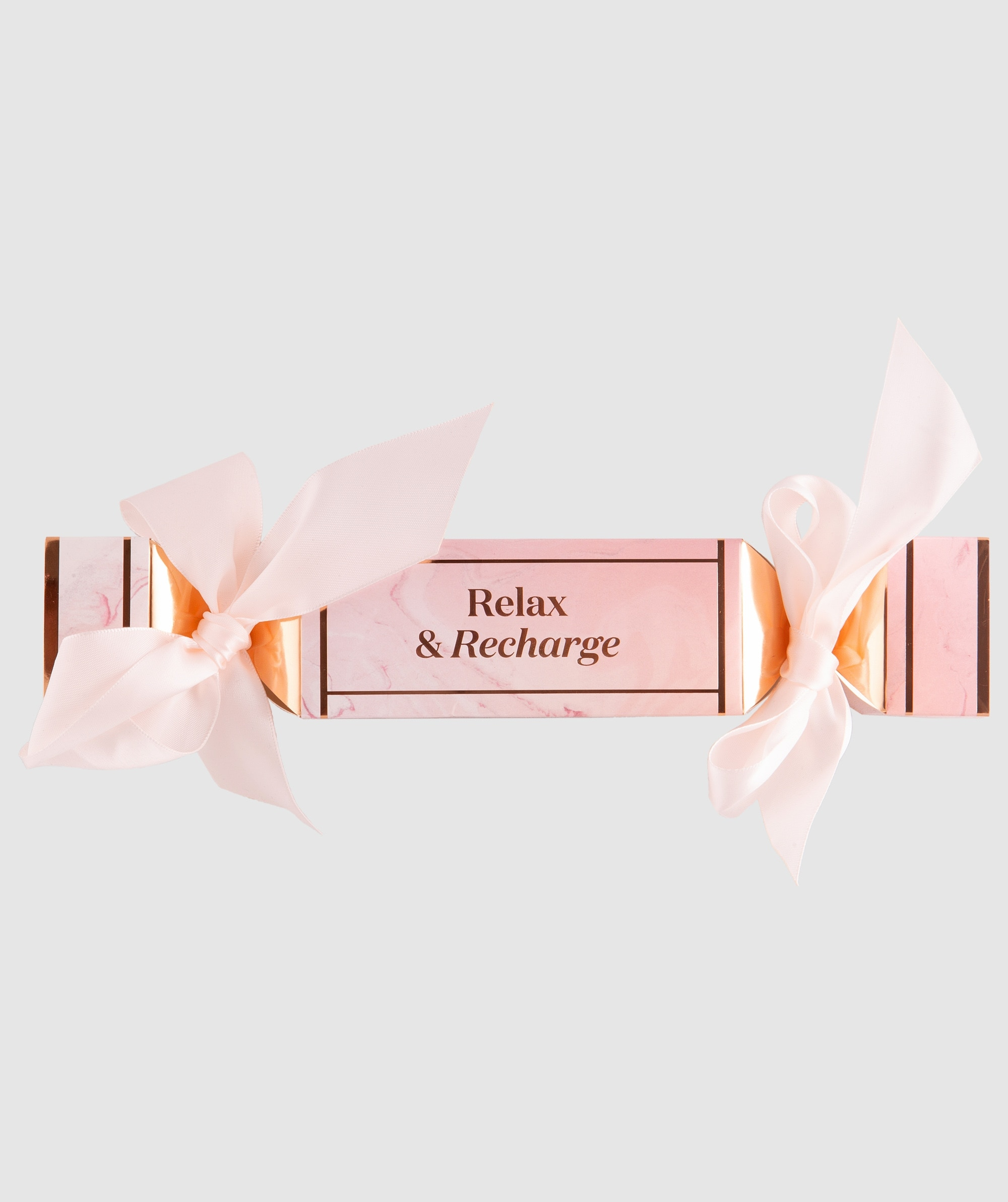 Relax and Recharge Cracker - Pink/Rose Gold