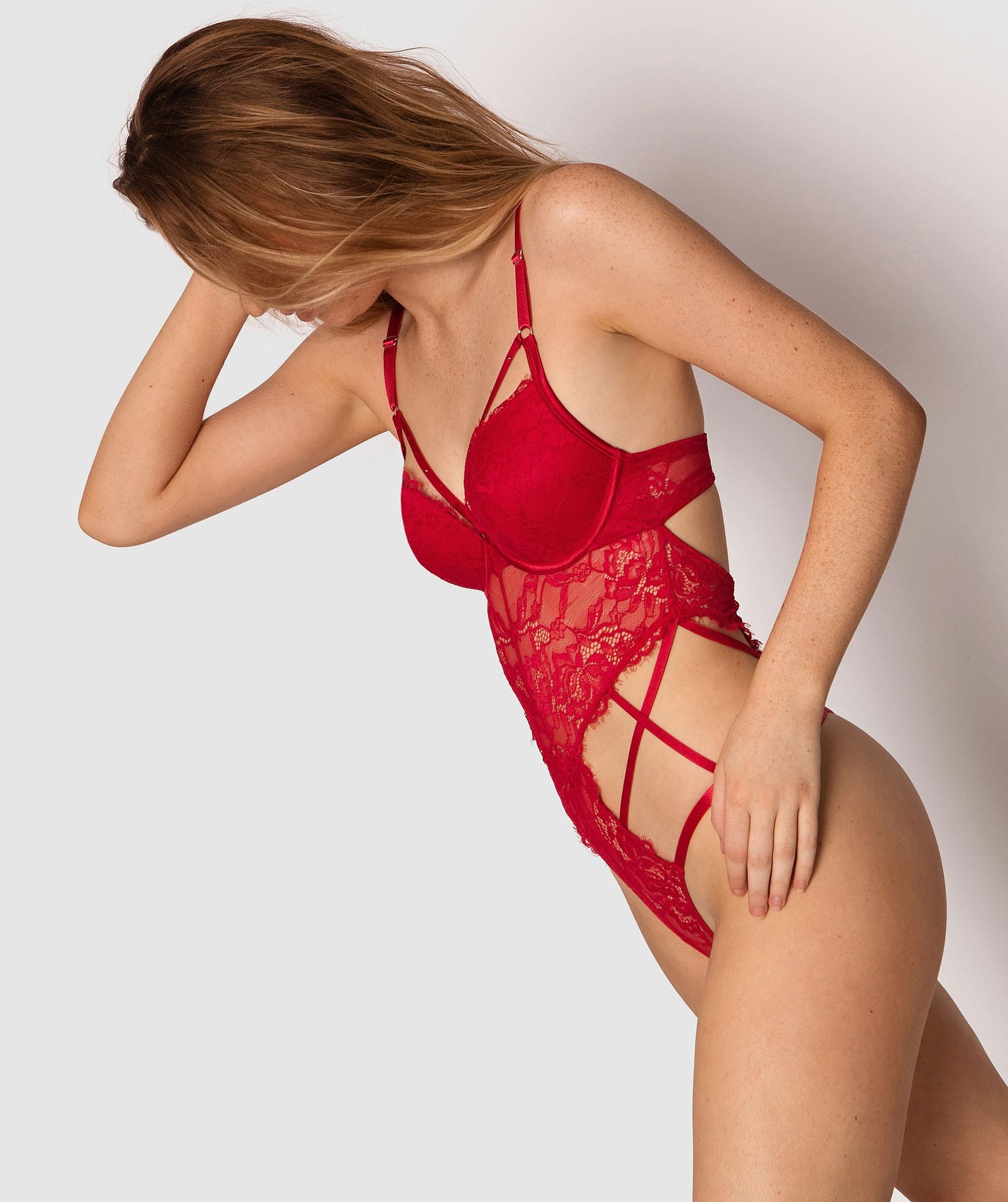 Warrior Glam Matisse Bodysuit - Red