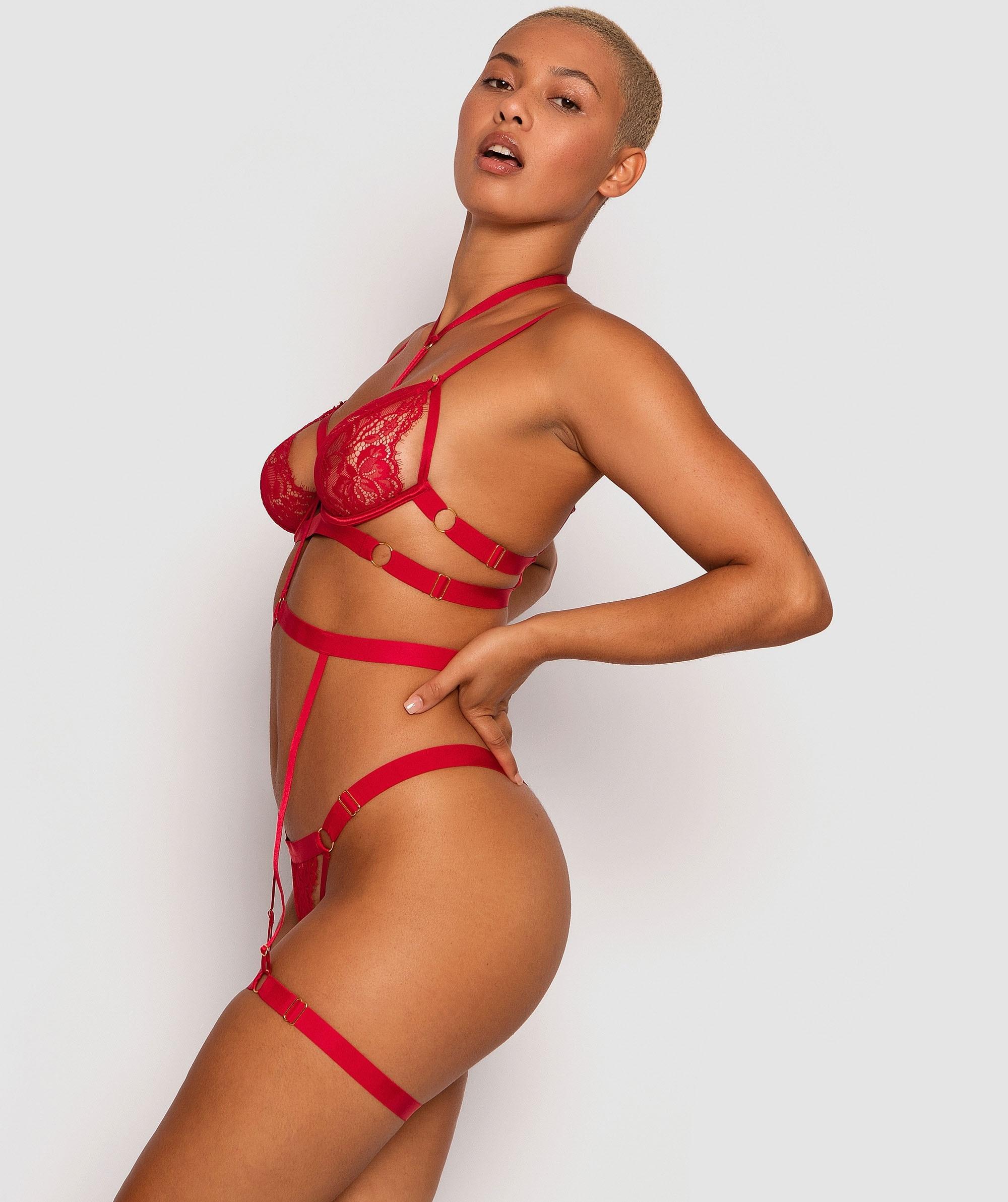 Sweet Nothings Suspender - Red