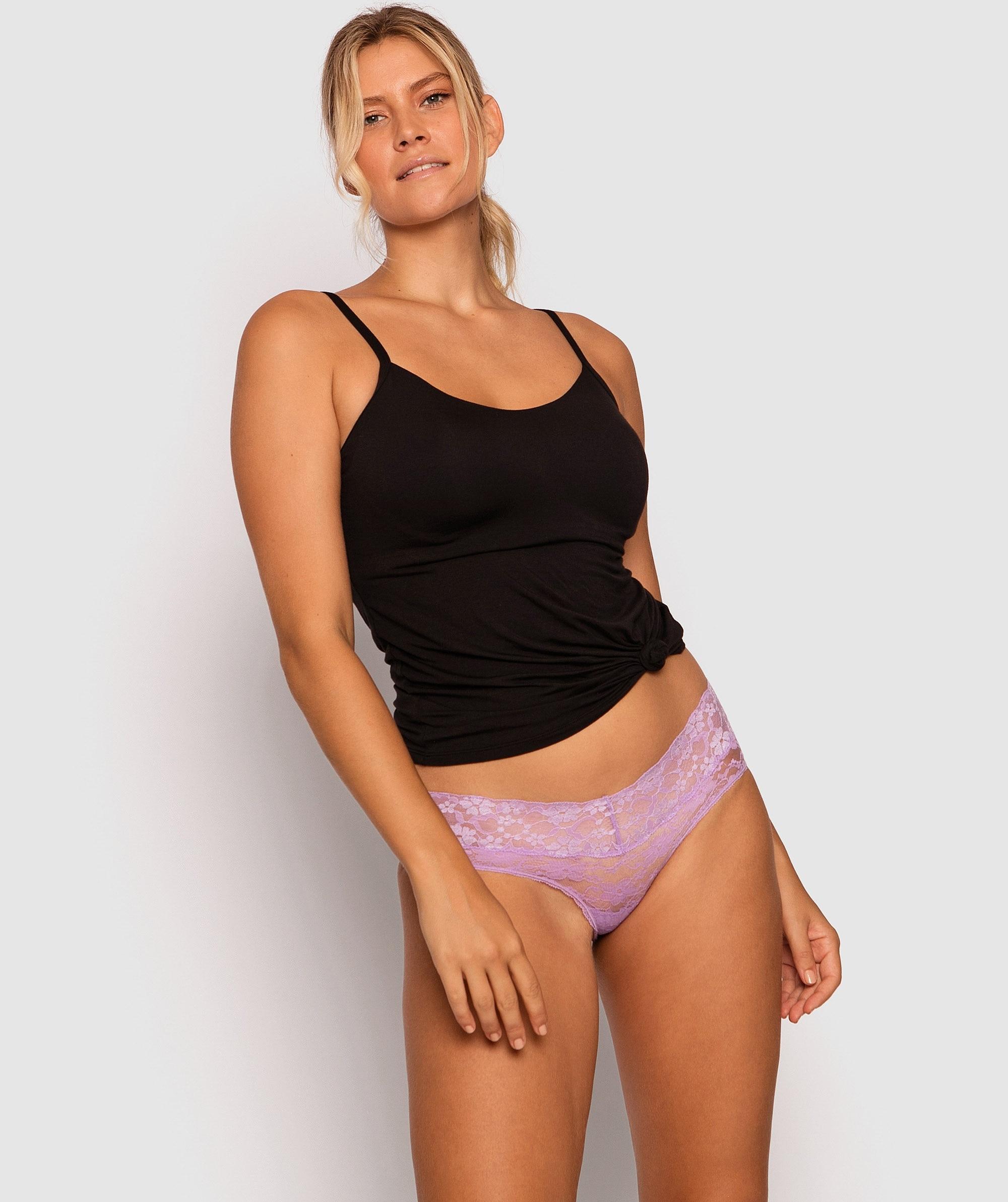 Evie Boyleg Knicker - Lilac