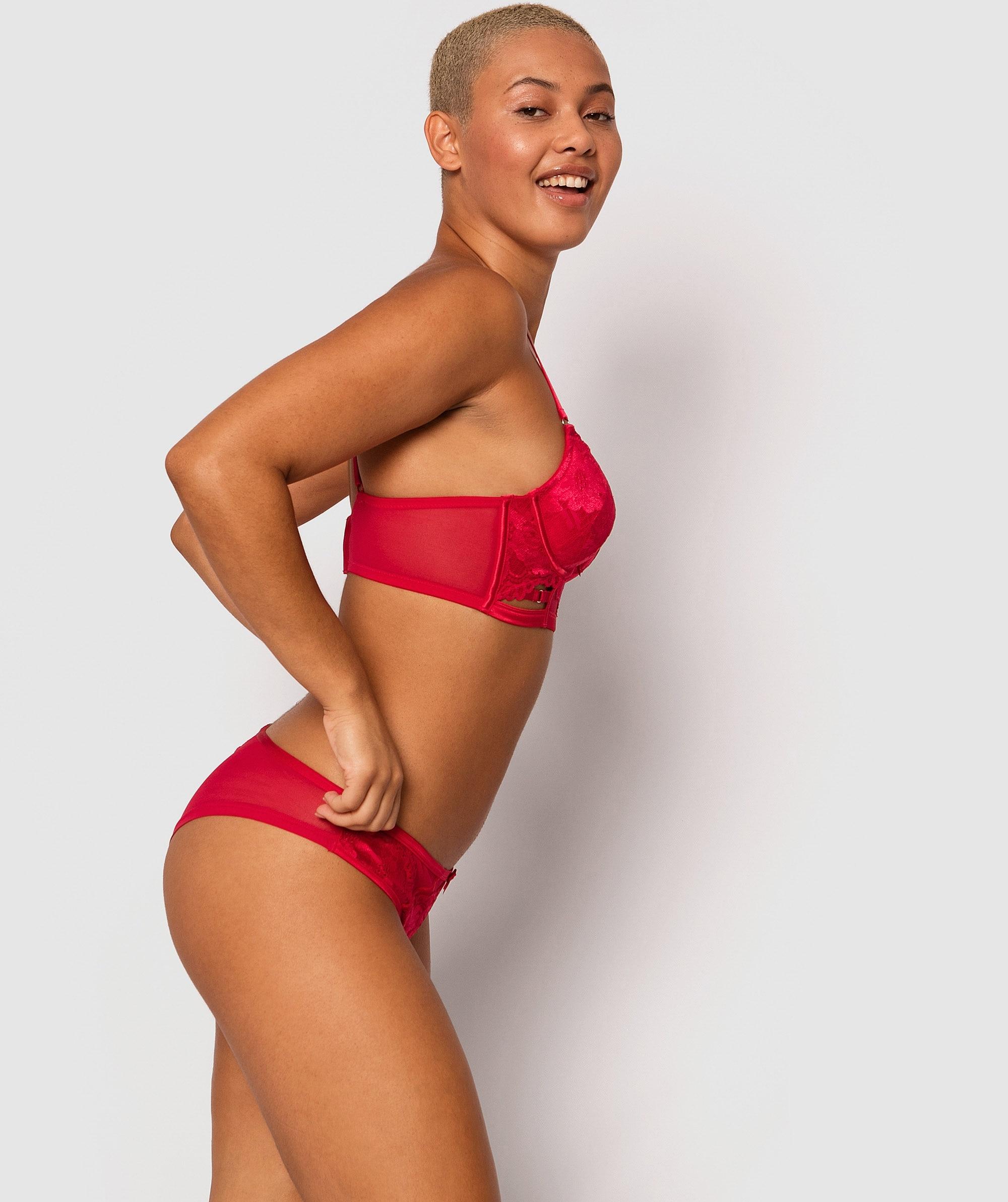 Gemma Brazilian Knicker - Red