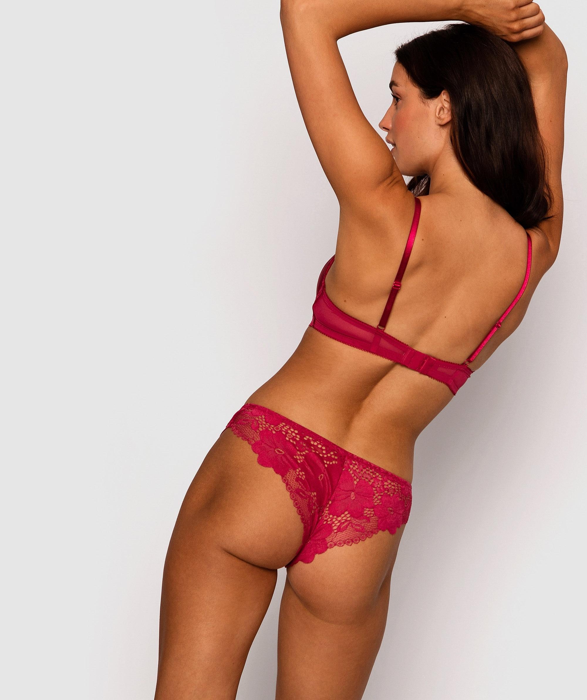 Cora Brazilian Knicker - Berry
