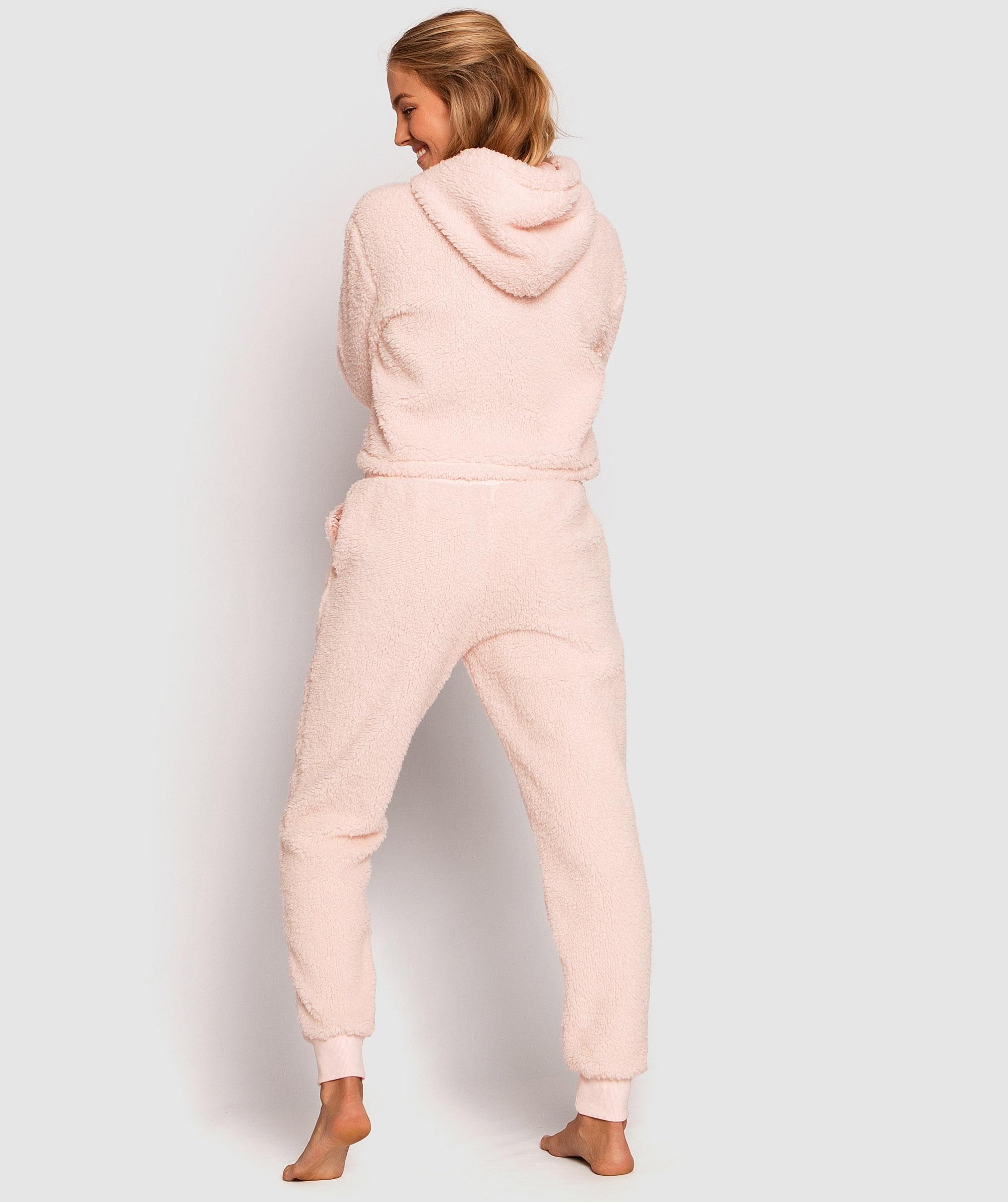 Teddy Long Pants - Pink