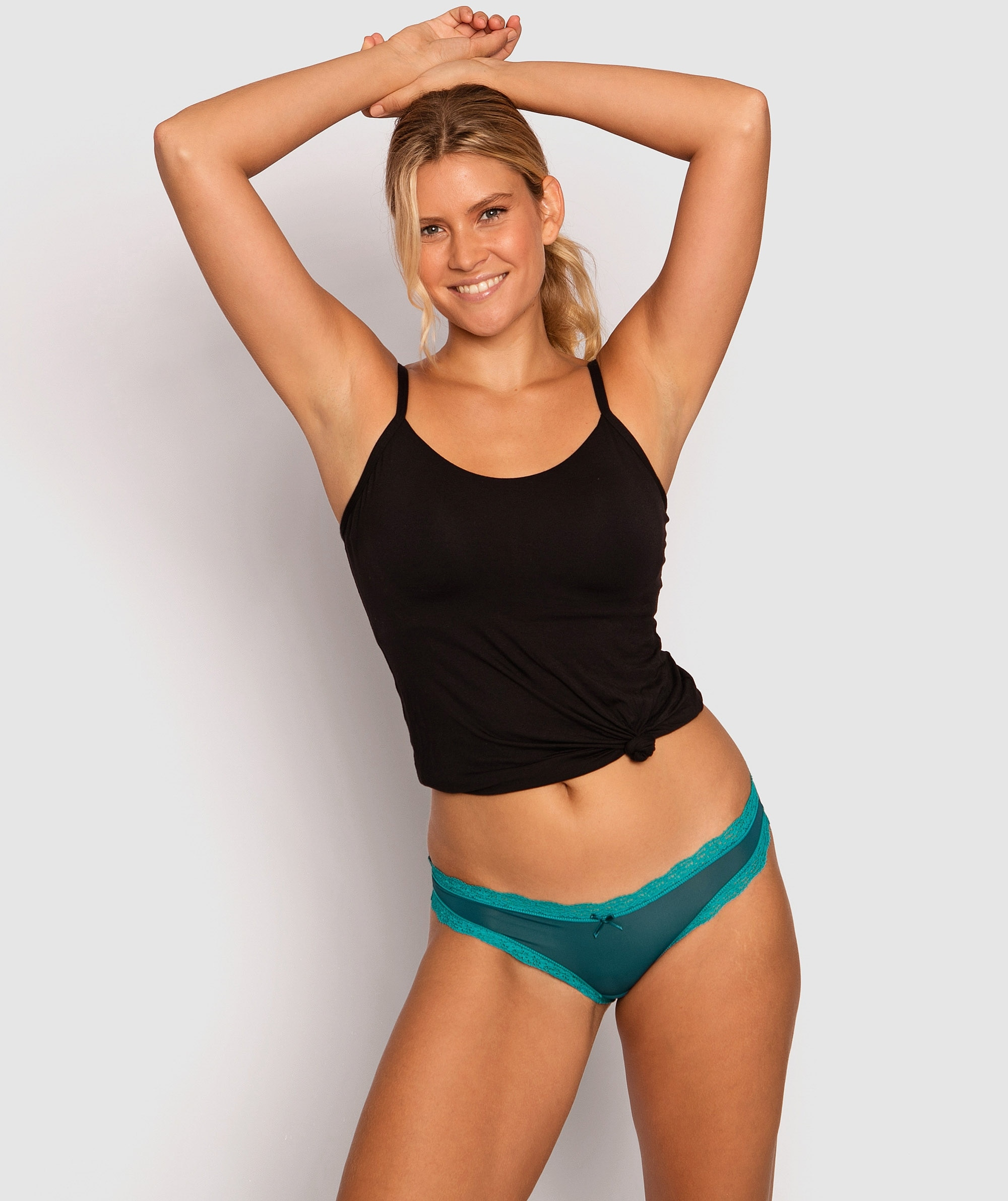OCA Rosy Bikini Knicker - Teal