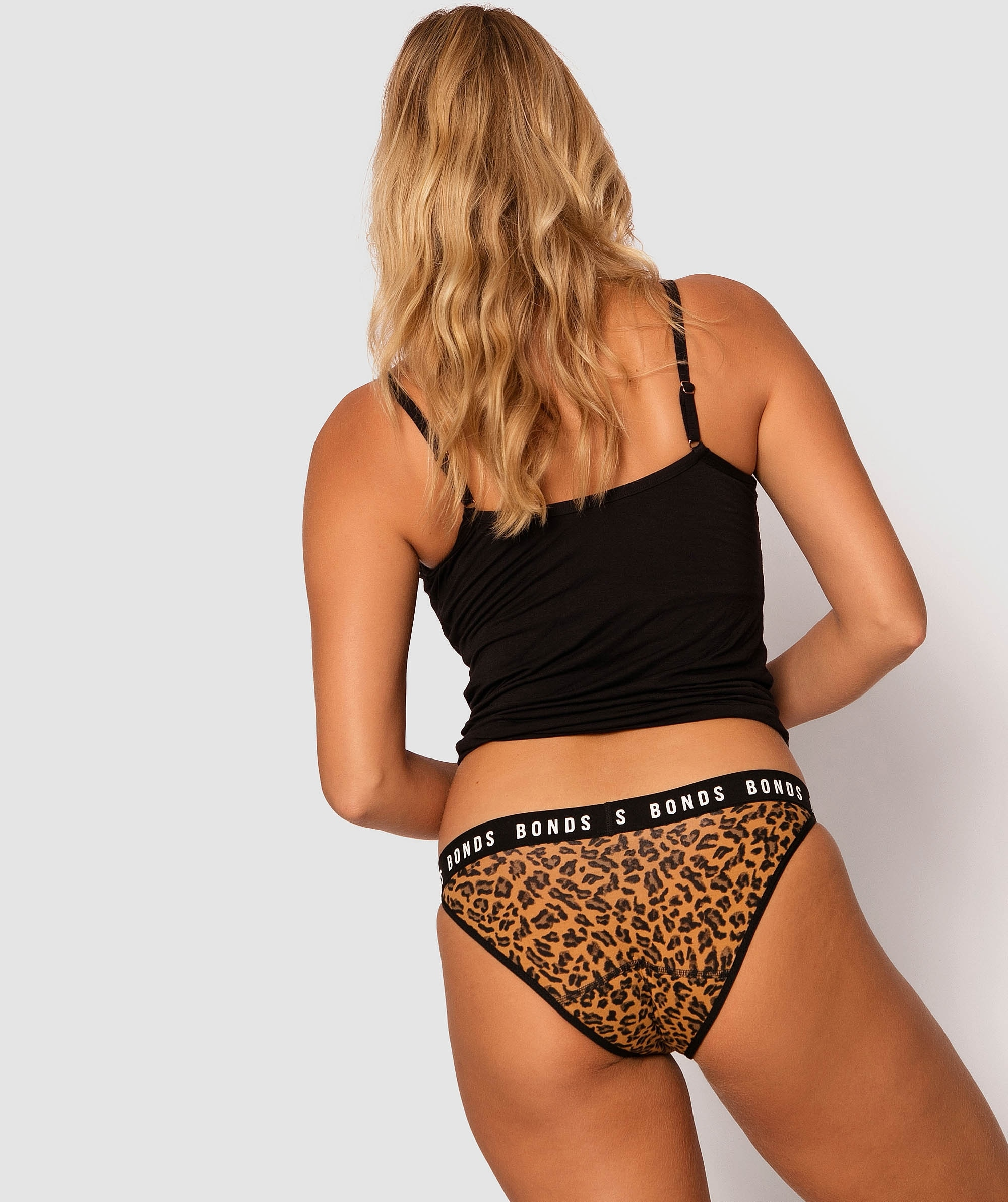 Bloody Comfy Period Undies Bikini Heavy - Animal Print
