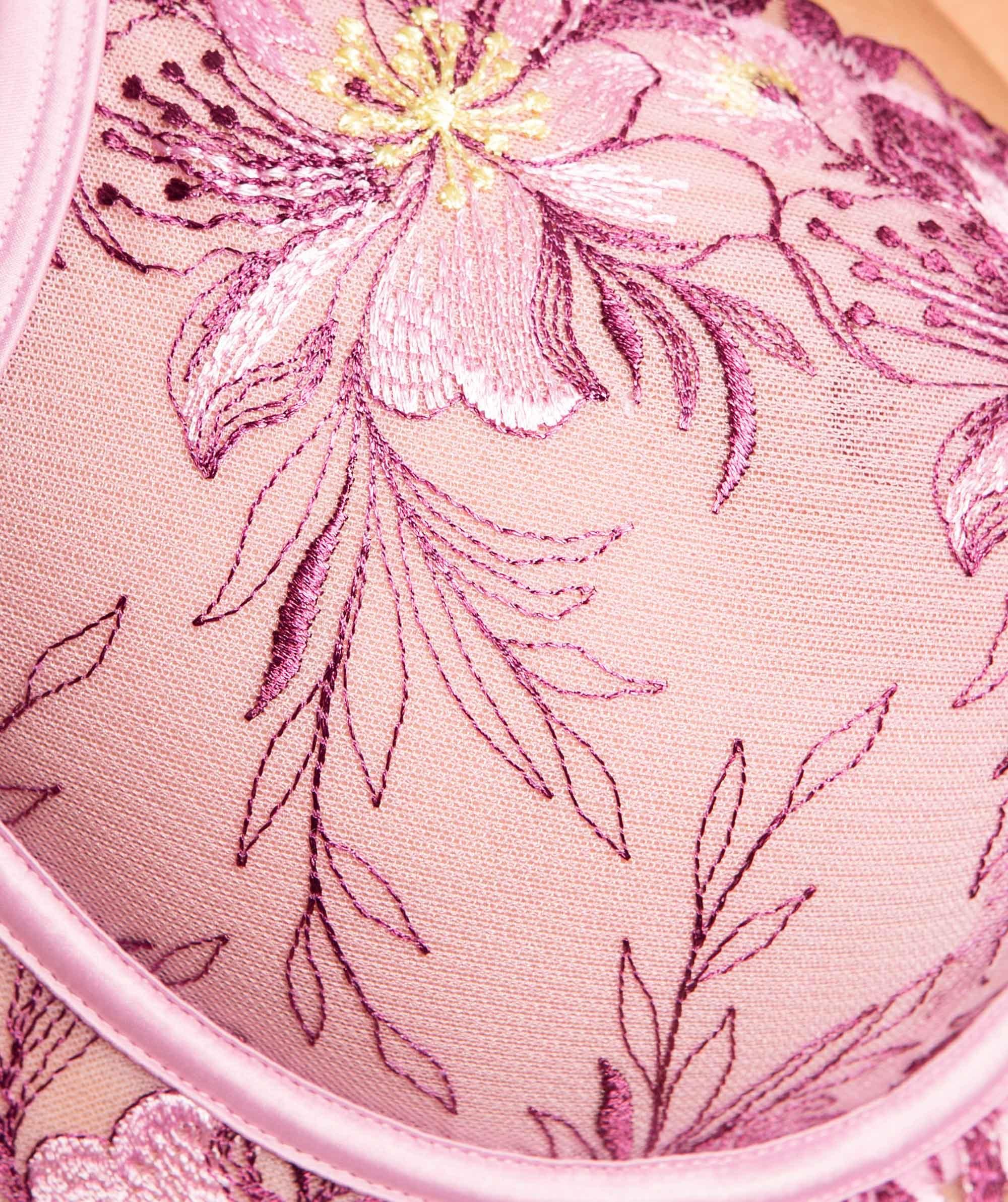 Enchanted Tuscany Underwire Bra - Lilac/Purple