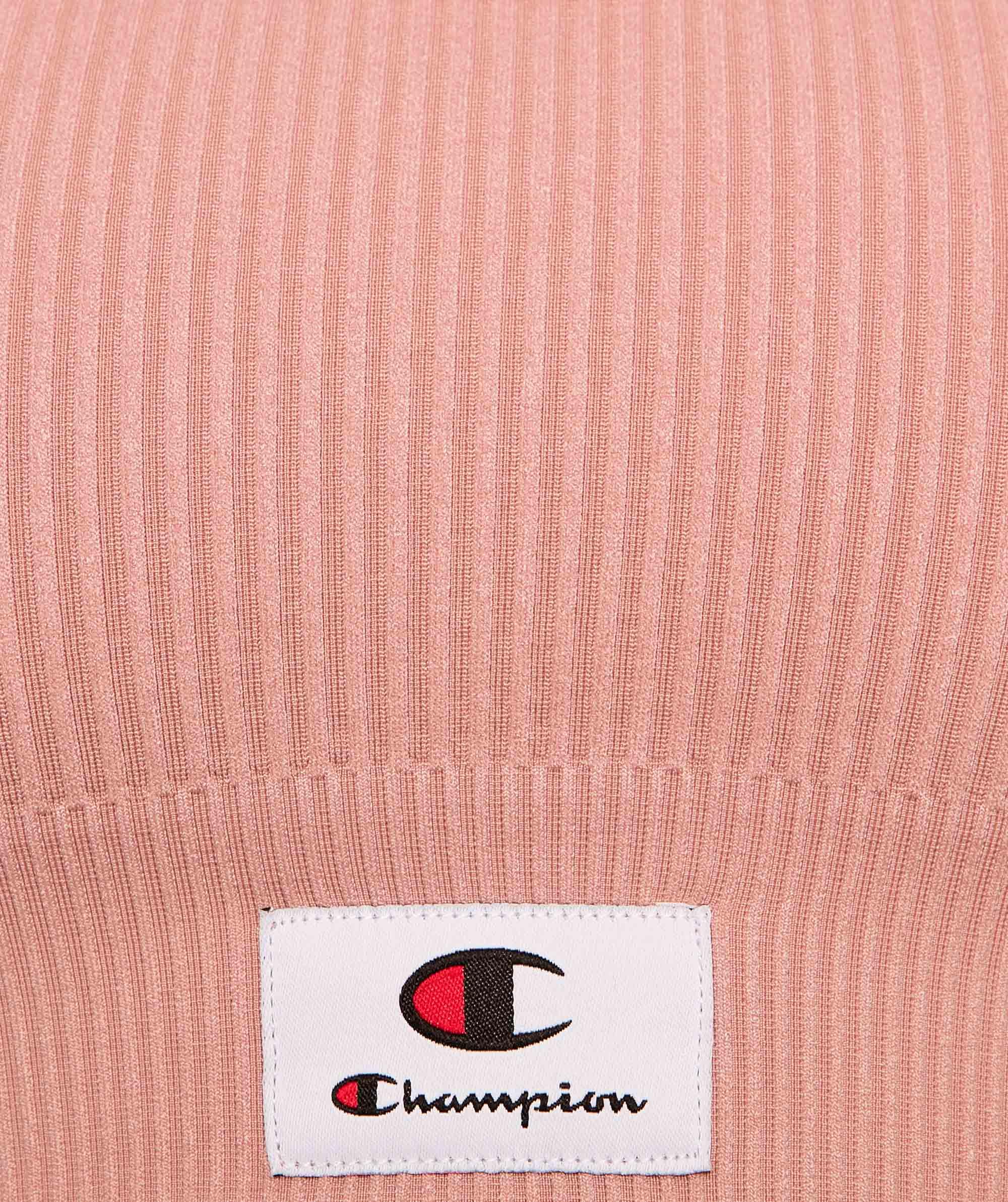Champion Life Seamfree Rib Scoop Crop - Light Pink