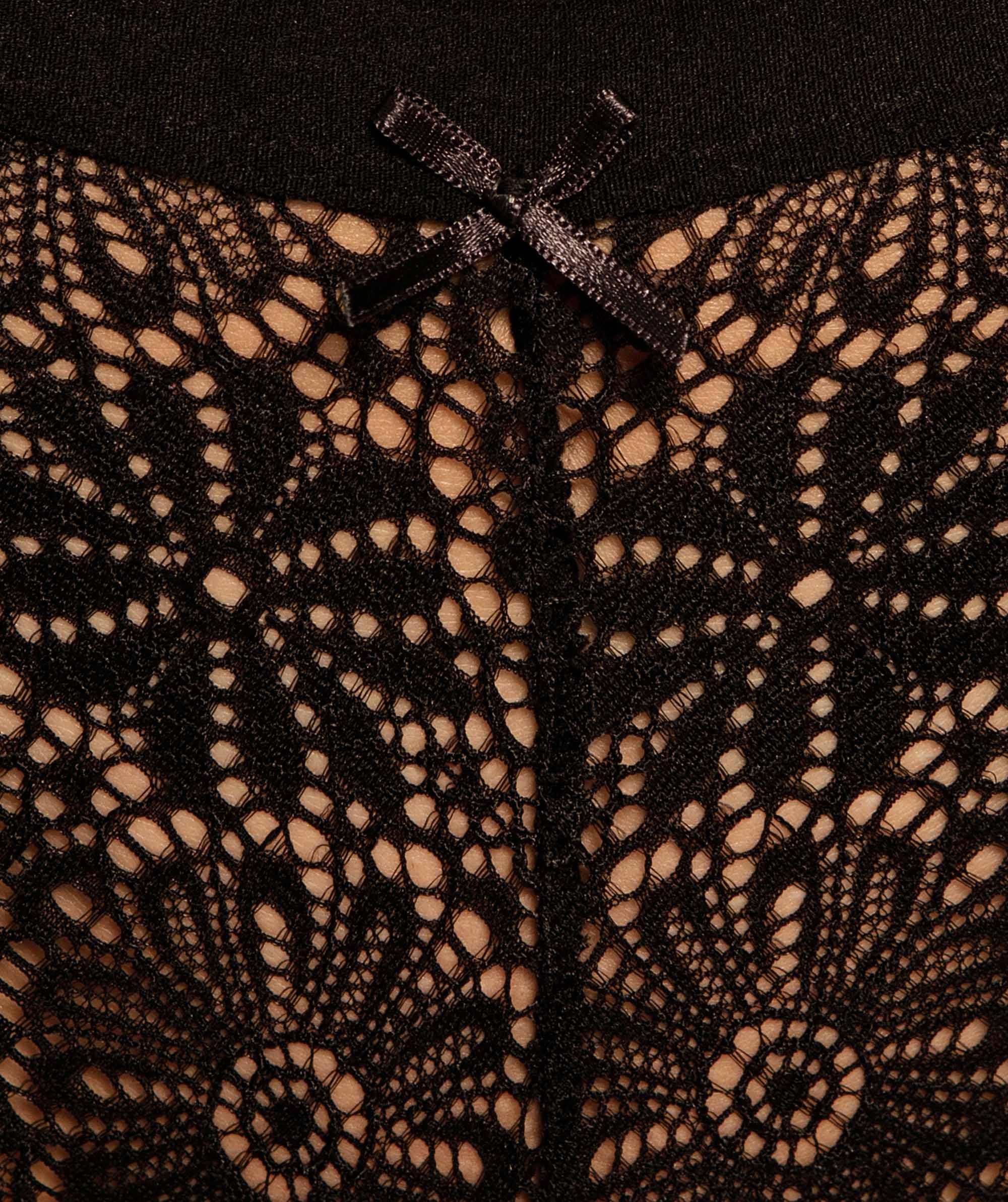 Alby Brazilian Knicker - Black