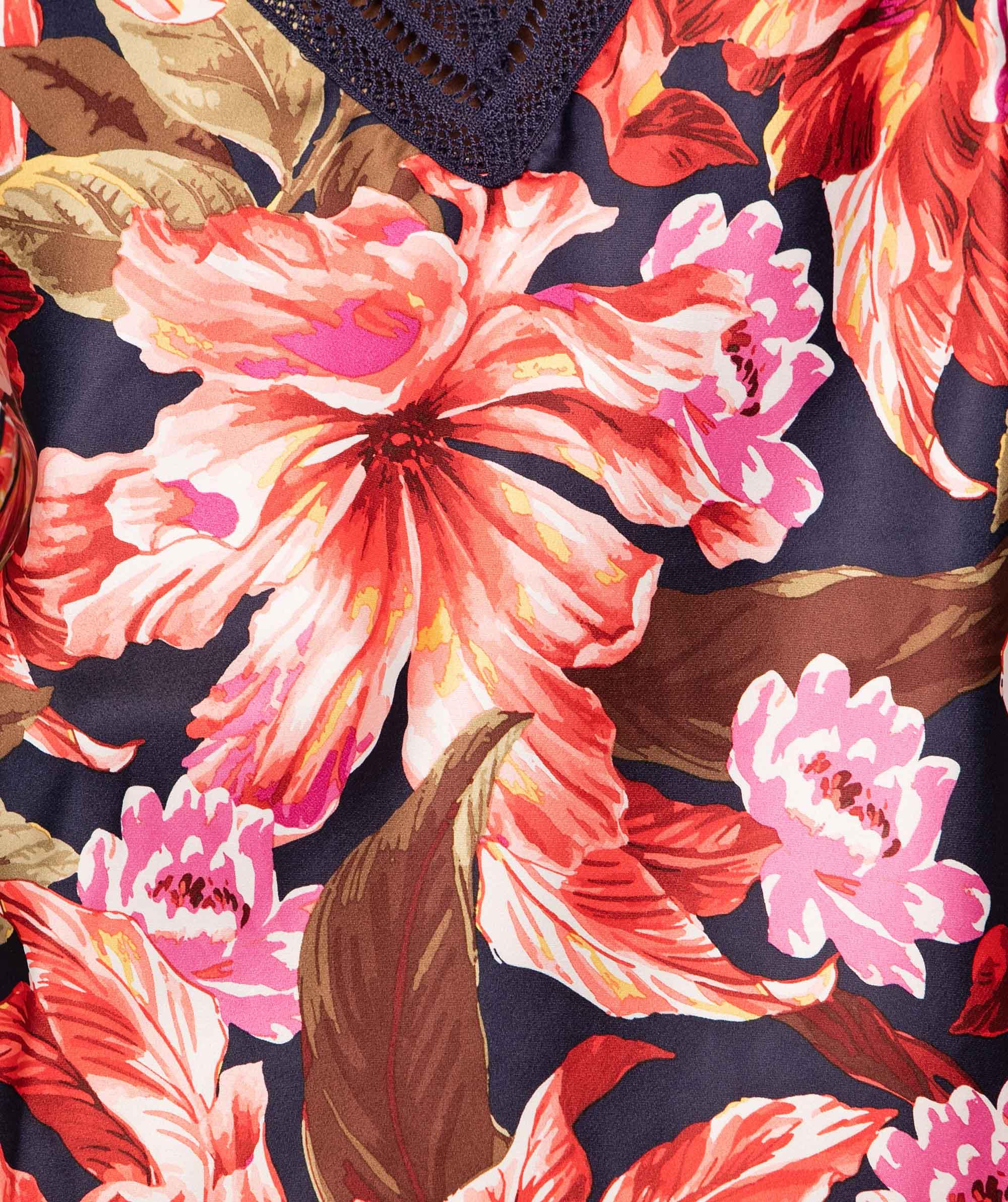 Rustic Fashion Shorts - Floral Print
