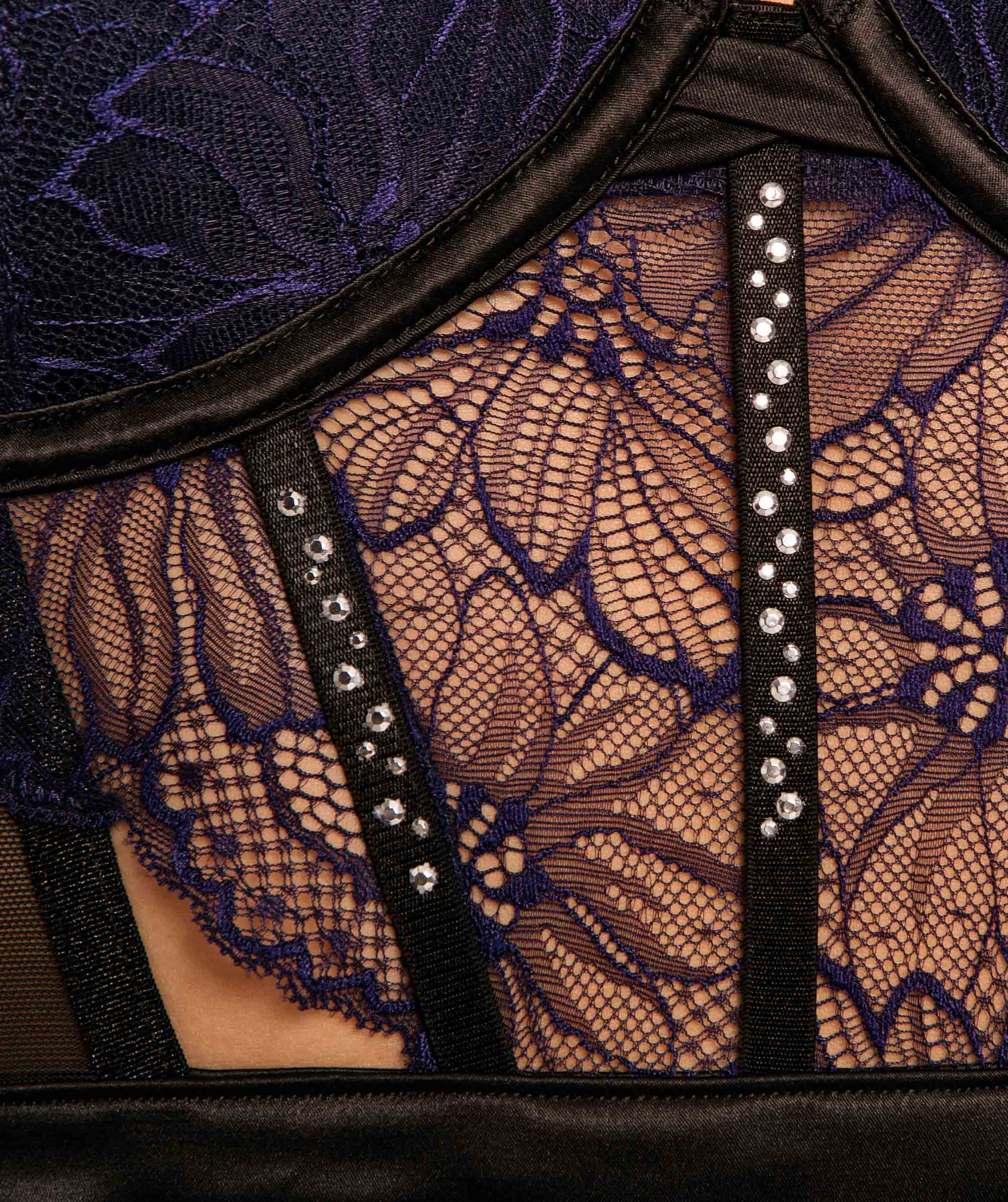 Roxette Contour Bliss Bodysuit - Navy/Black