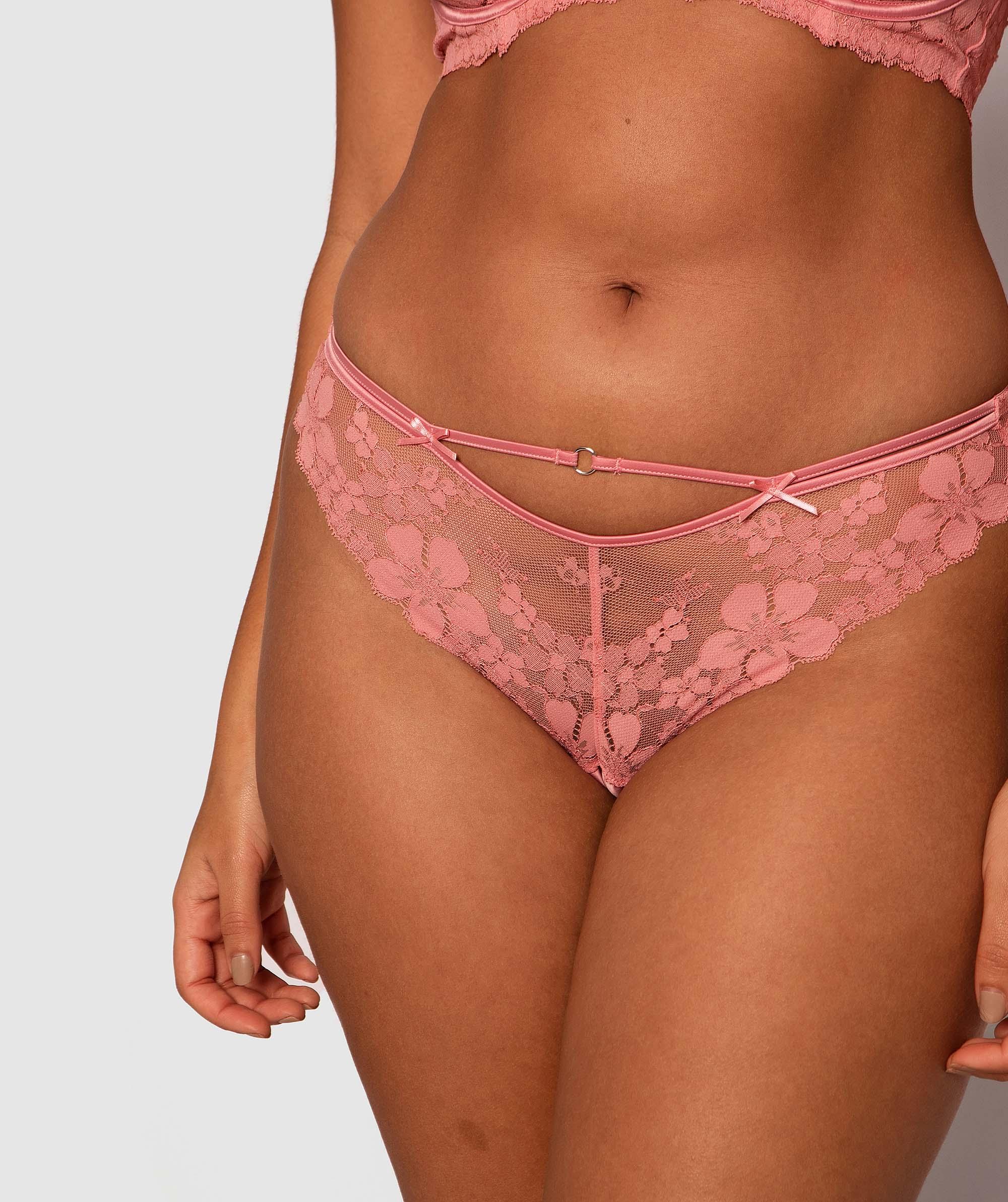 Amelia Brazilian Knicker - Pink