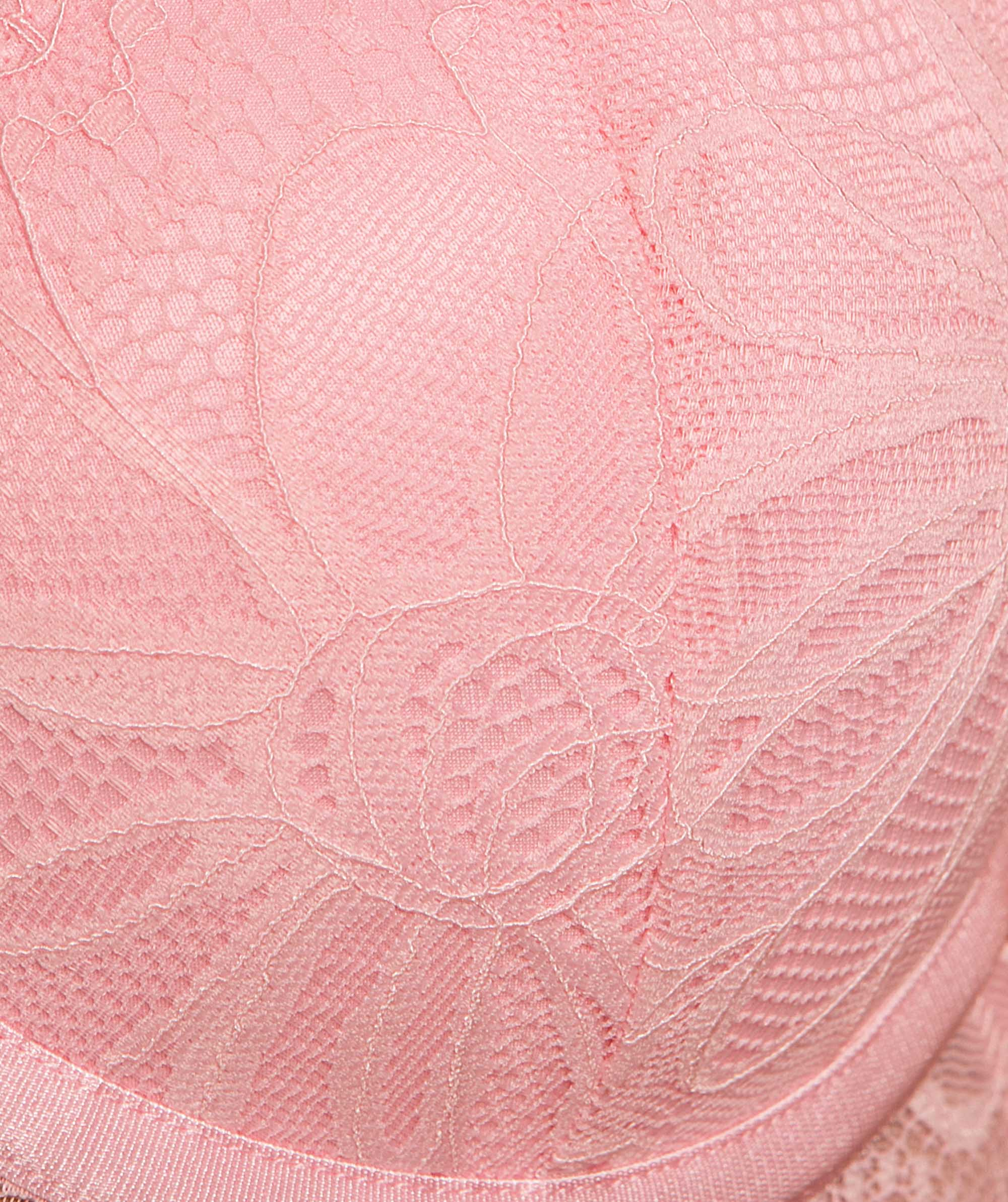 Leah Push Up Bra - Light Pink