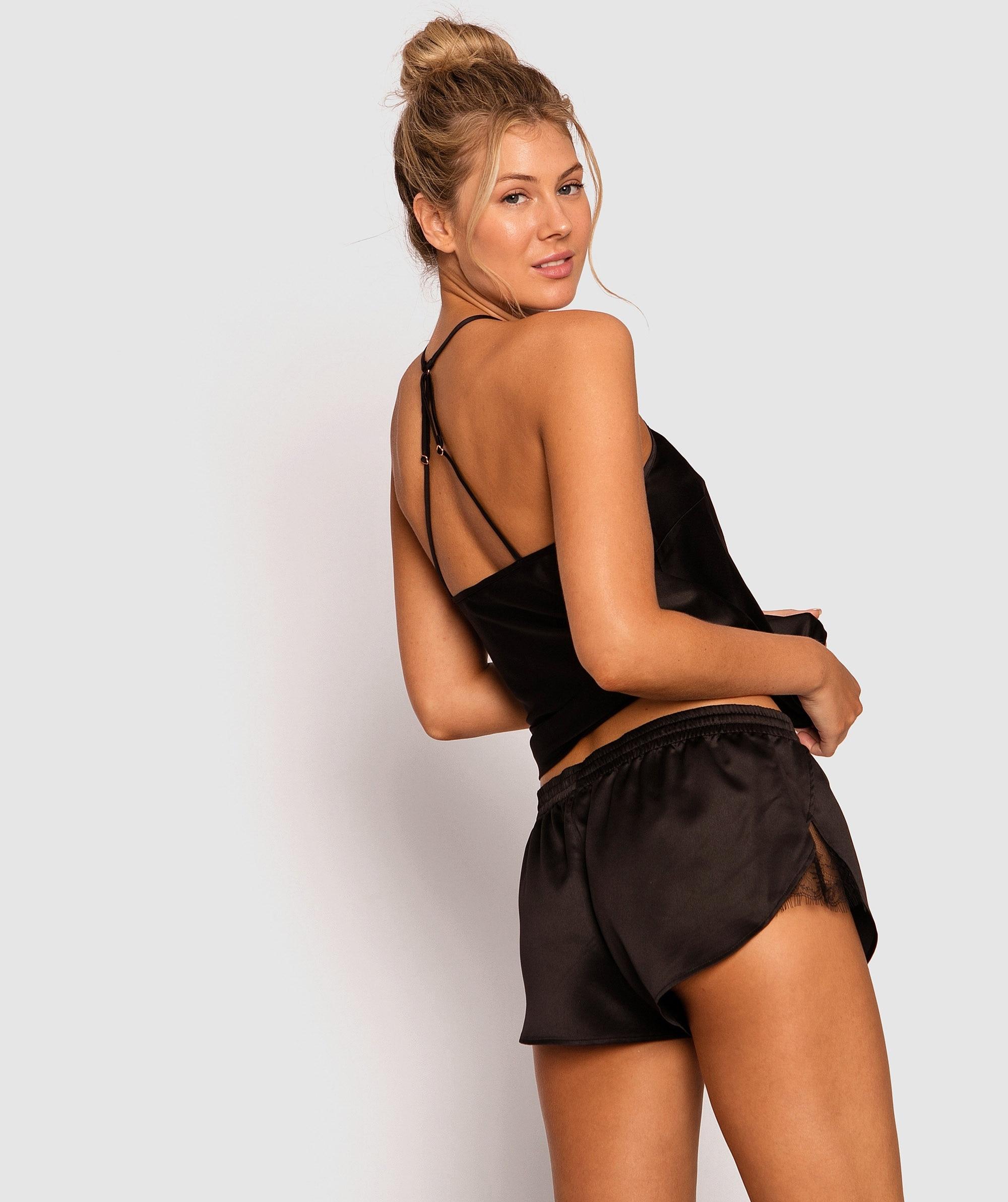 Cosmic Lace Shorts - Black