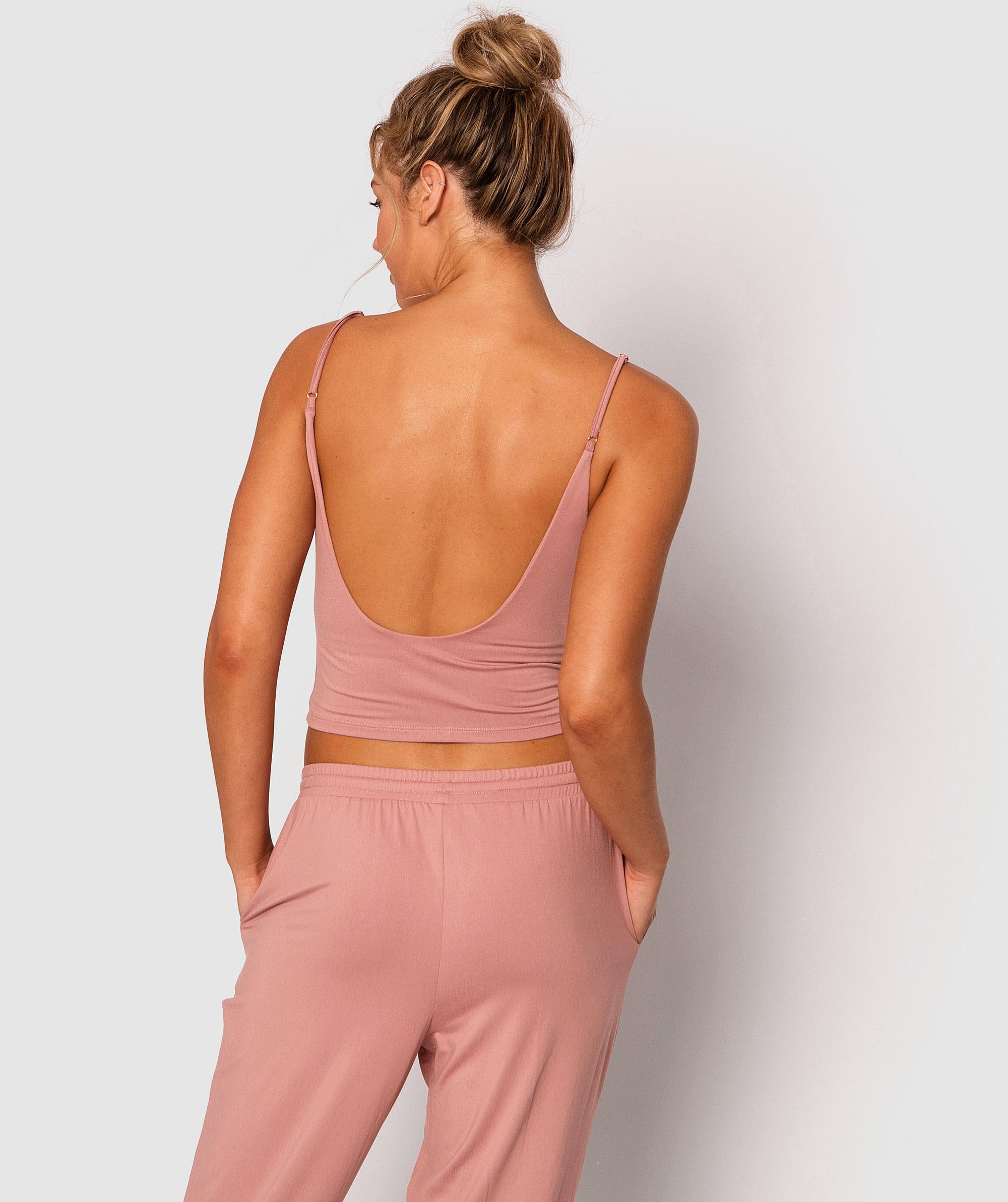 Style By Day Shelf Bra Cami - Pink