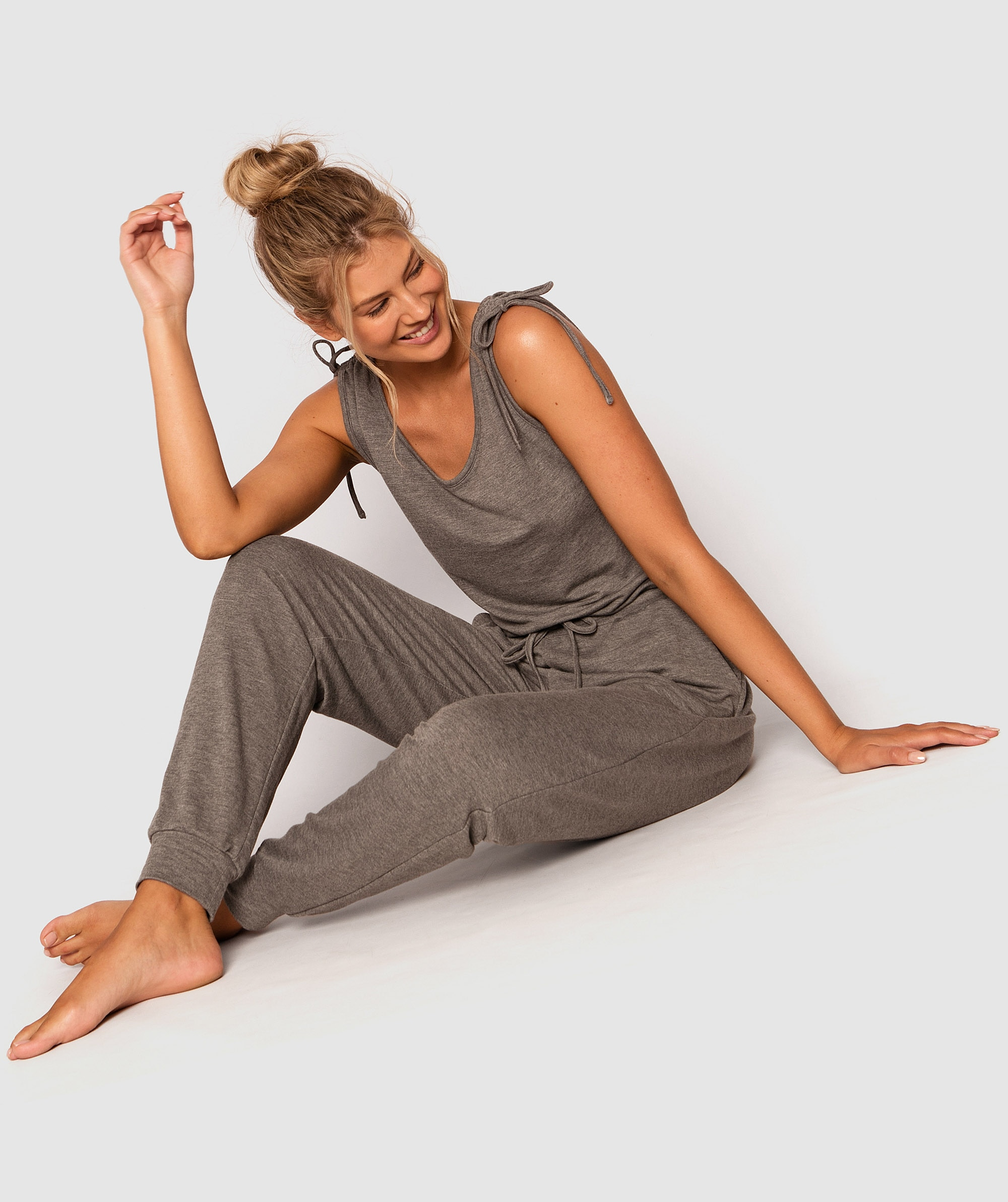 Style By Day Jumpsuit - Dark Grey