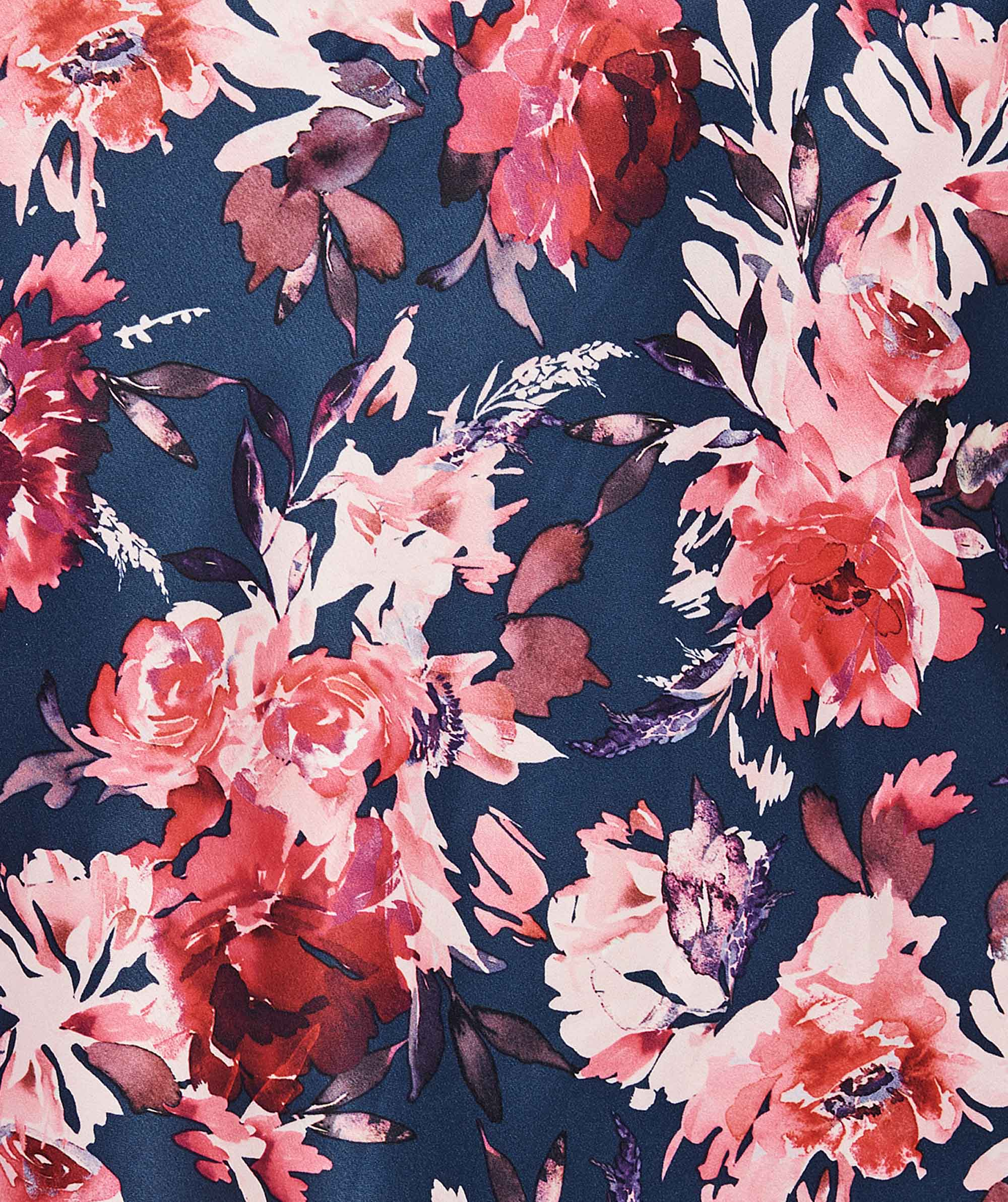 Evening Bloom Print Shorts - Floral Print