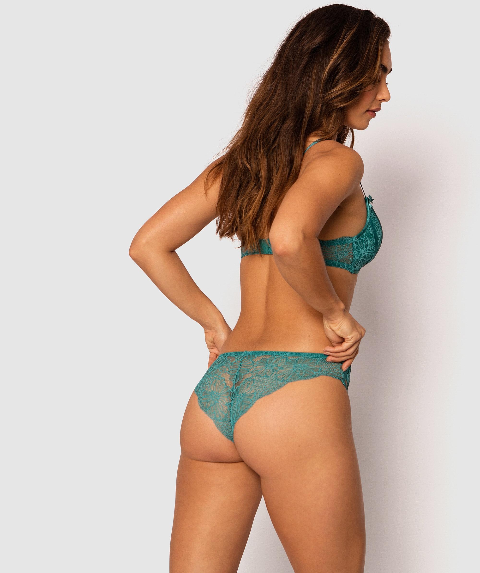 Davina Brazilian Knicker - Teal