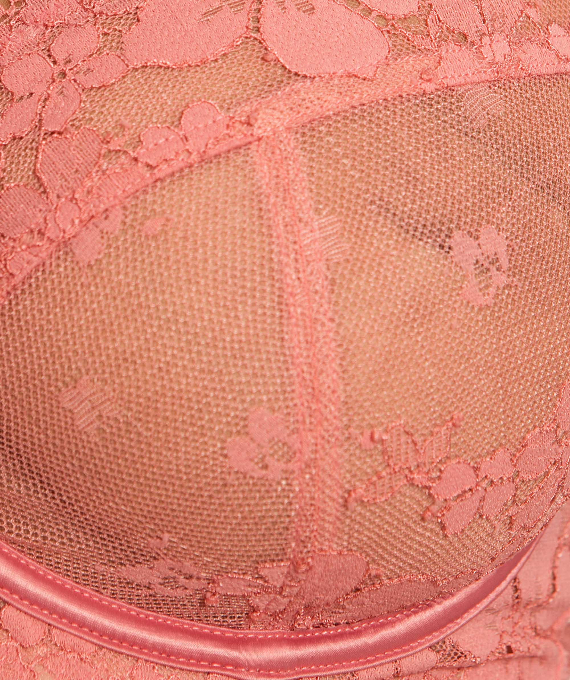 Amelia Full Cup Underwire Bra - Pink