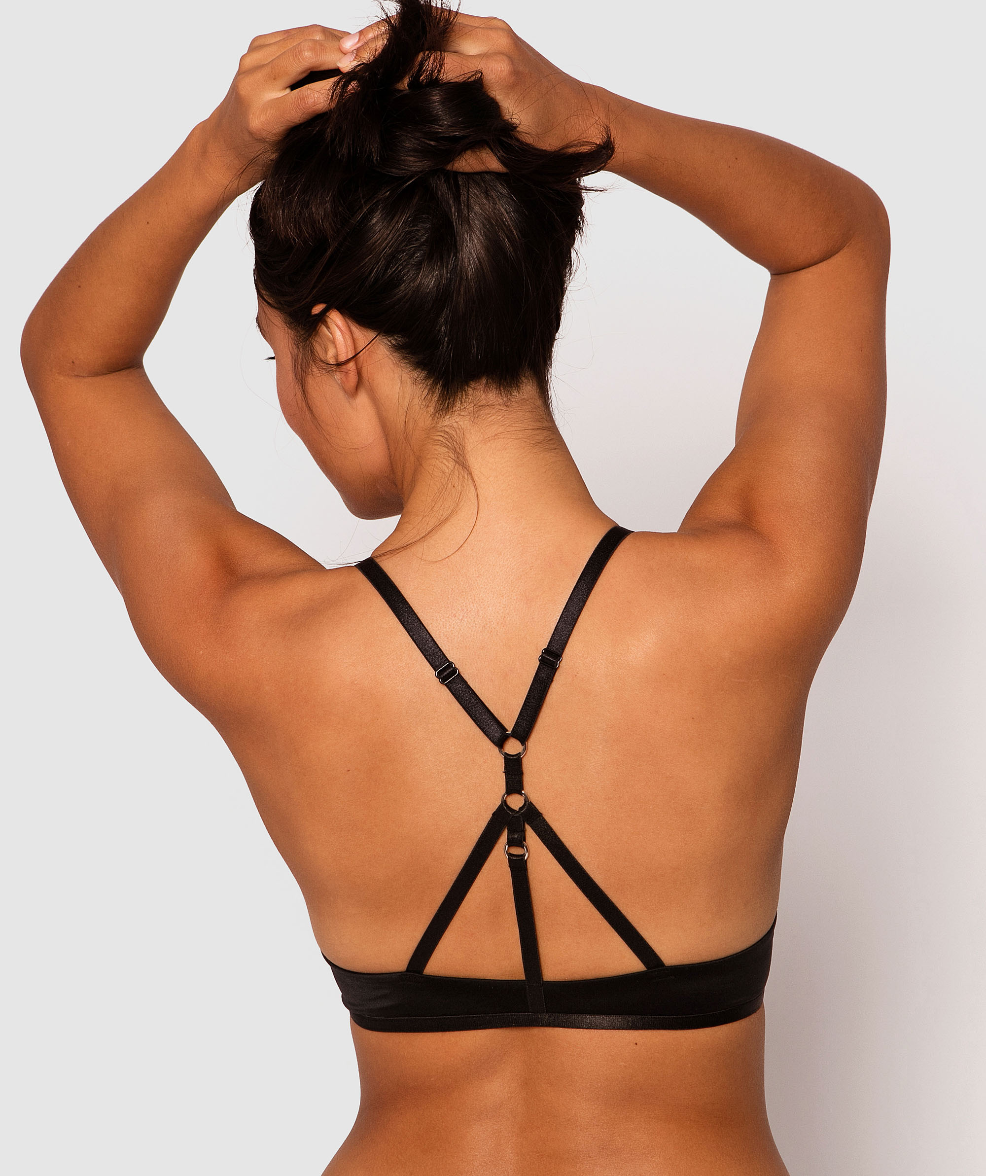 Style By Day Plunge Contour Bra - Black