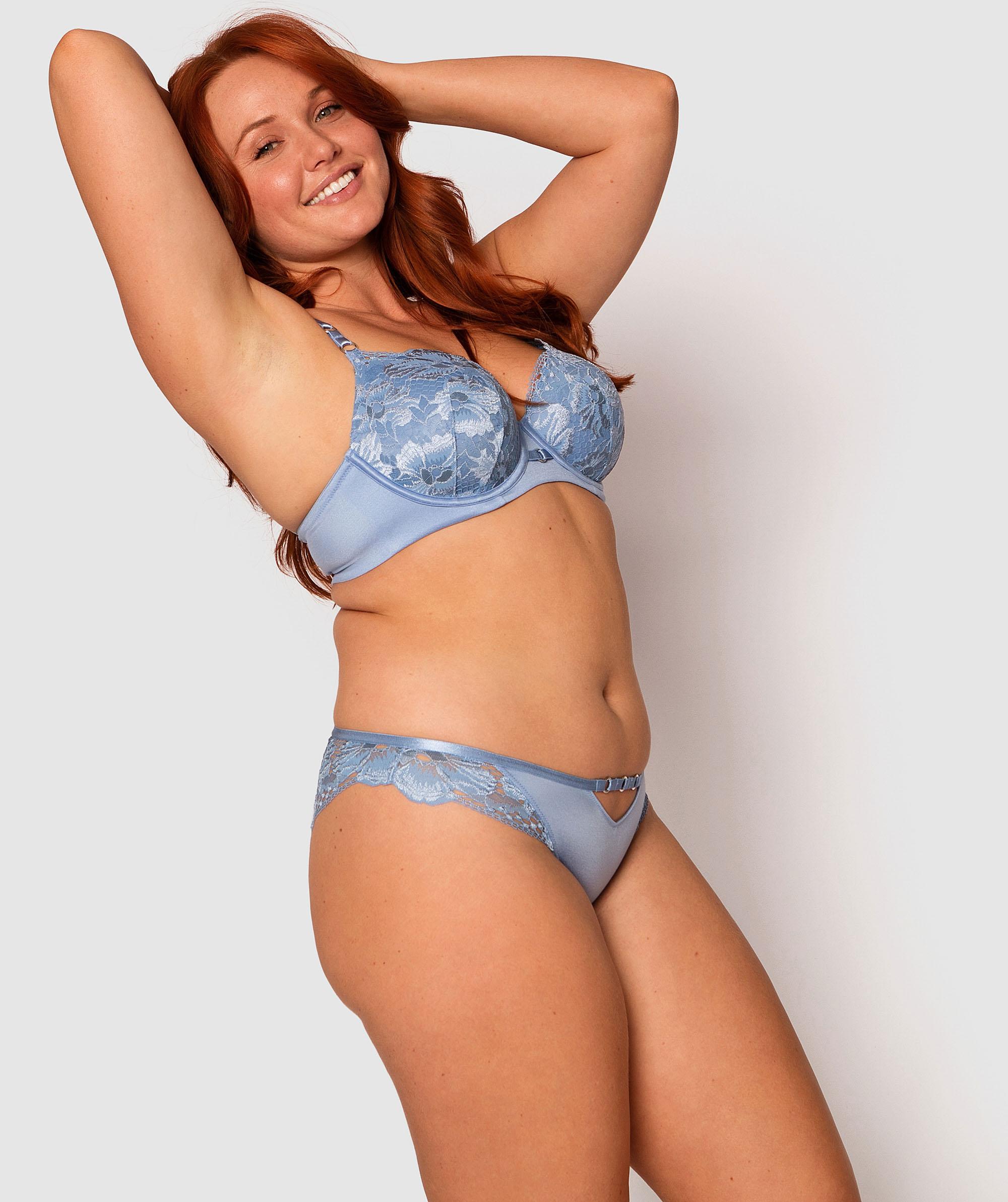 Style By Day Brazilian Knicker - Light Blue
