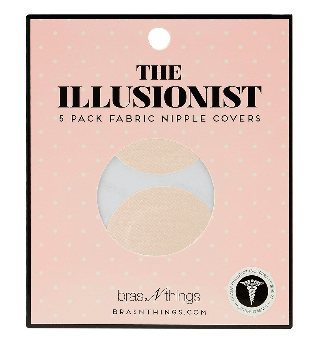 Nipple Covers 5 Pack Adhesive - Nude