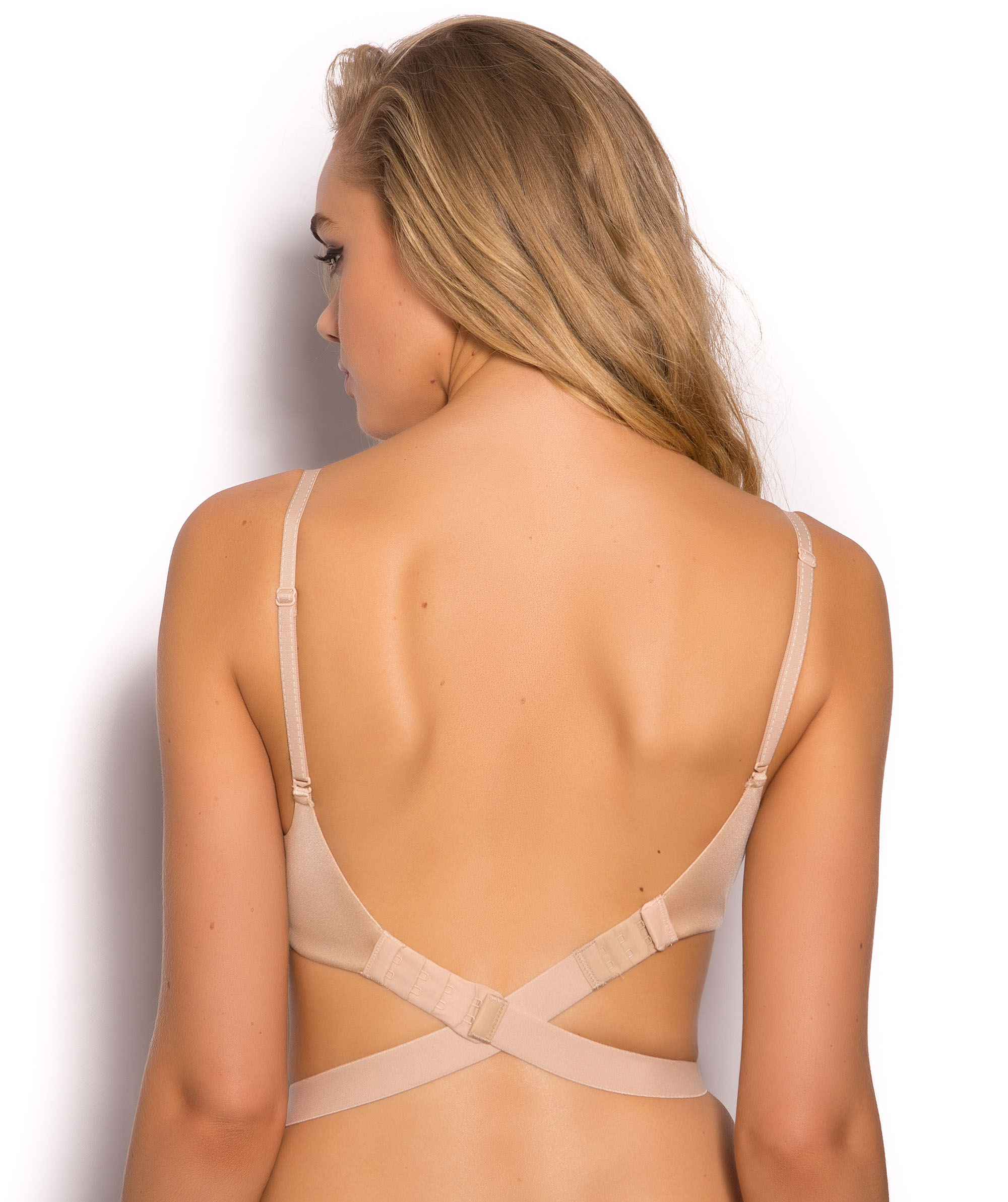Low Back Bra Extender - Nude