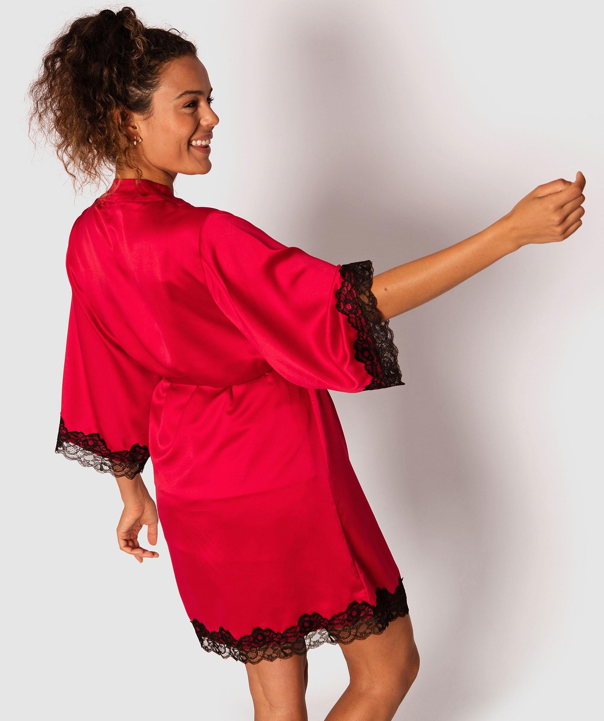 Anastasia Short Wrap - Red