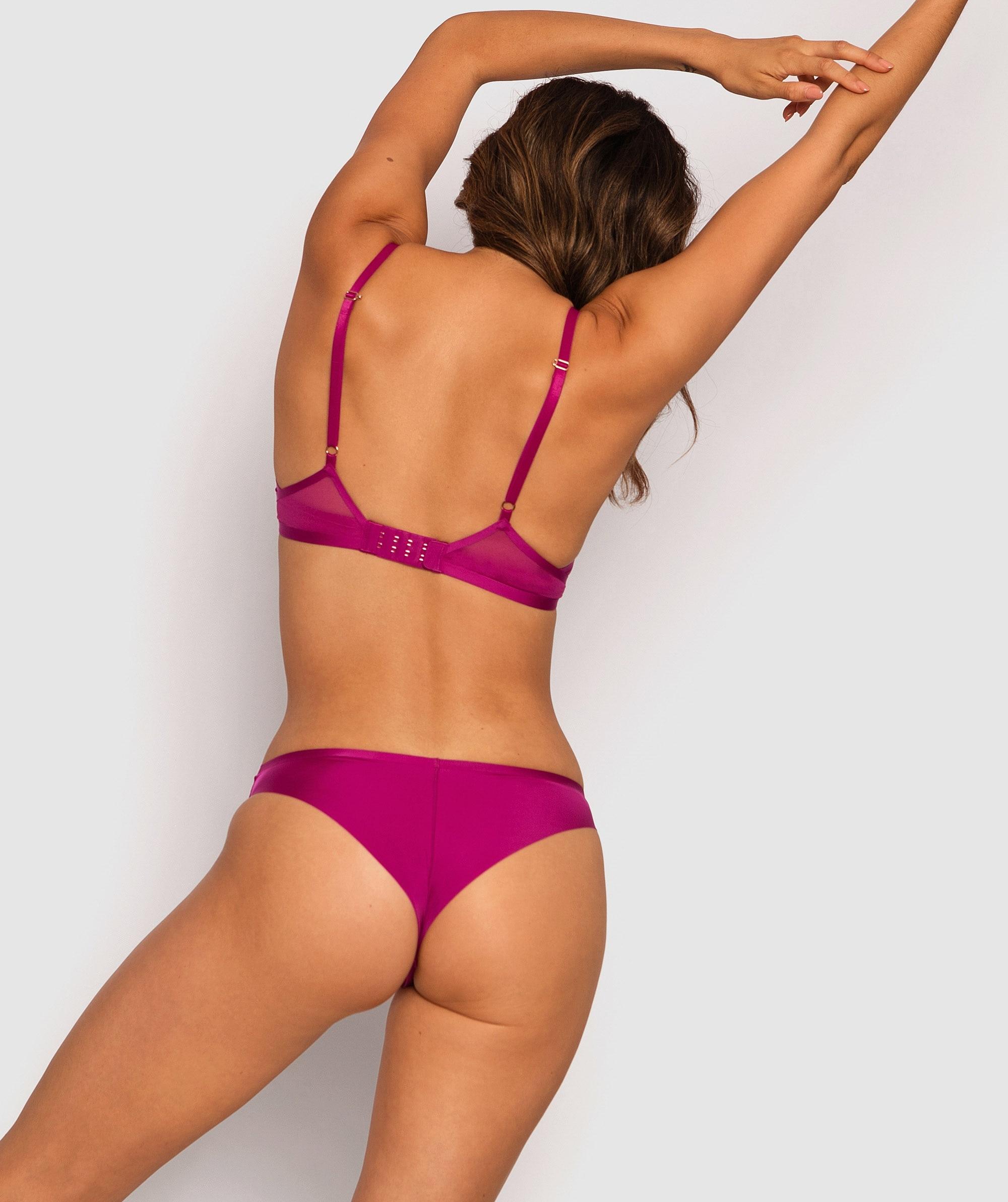 Eternal Edge Brazilian Knicker - Purple