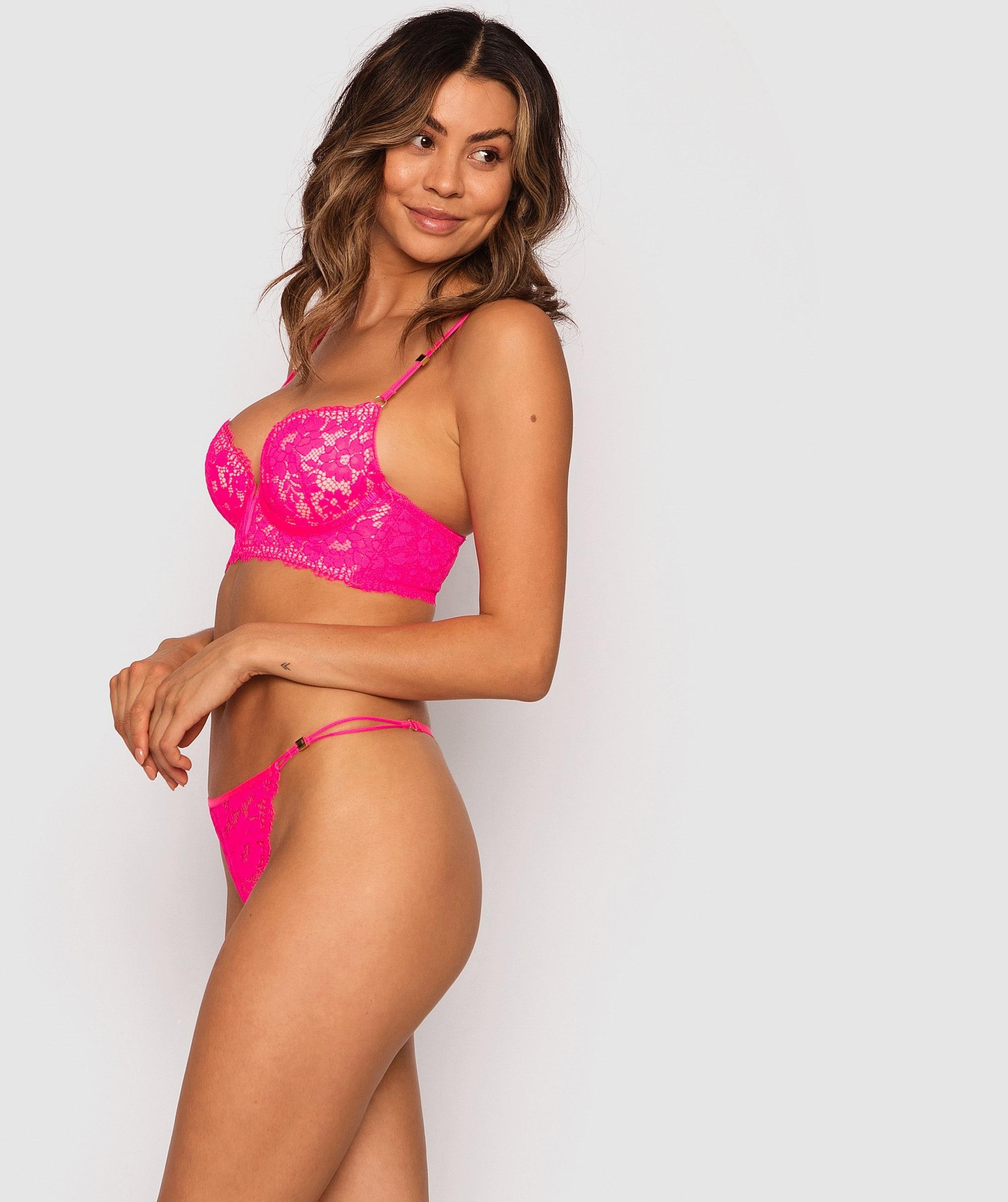 Marnie Mini V Knicker - Pink