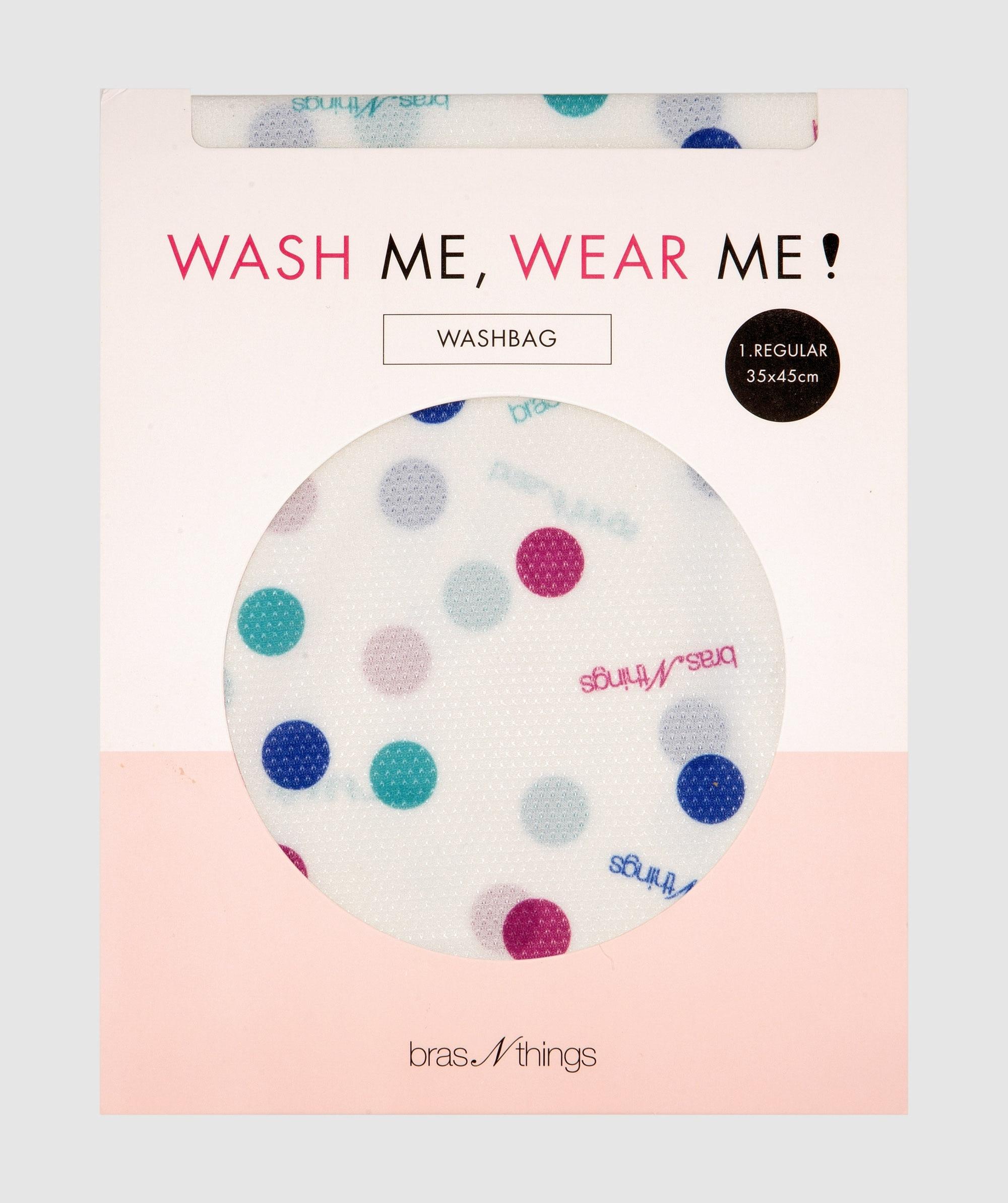 Spot Me Regular Washbag - Blue/Purple